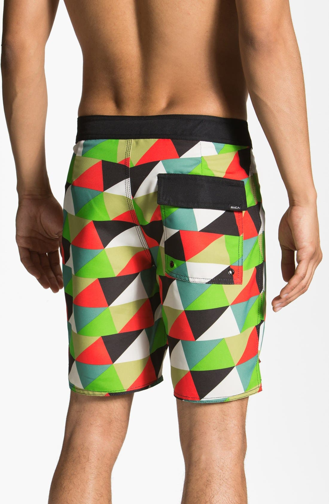 Alternate Image 2  - RVCA 'Barry McGee' Board Shorts
