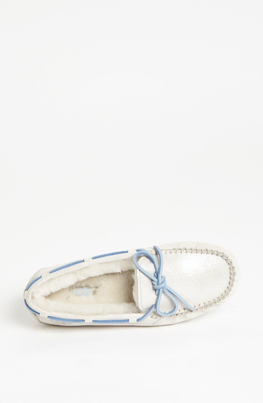 Alternate Image 3  - UGG® Australia 'Dakota - I Do' Moccasin Slipper (Women)