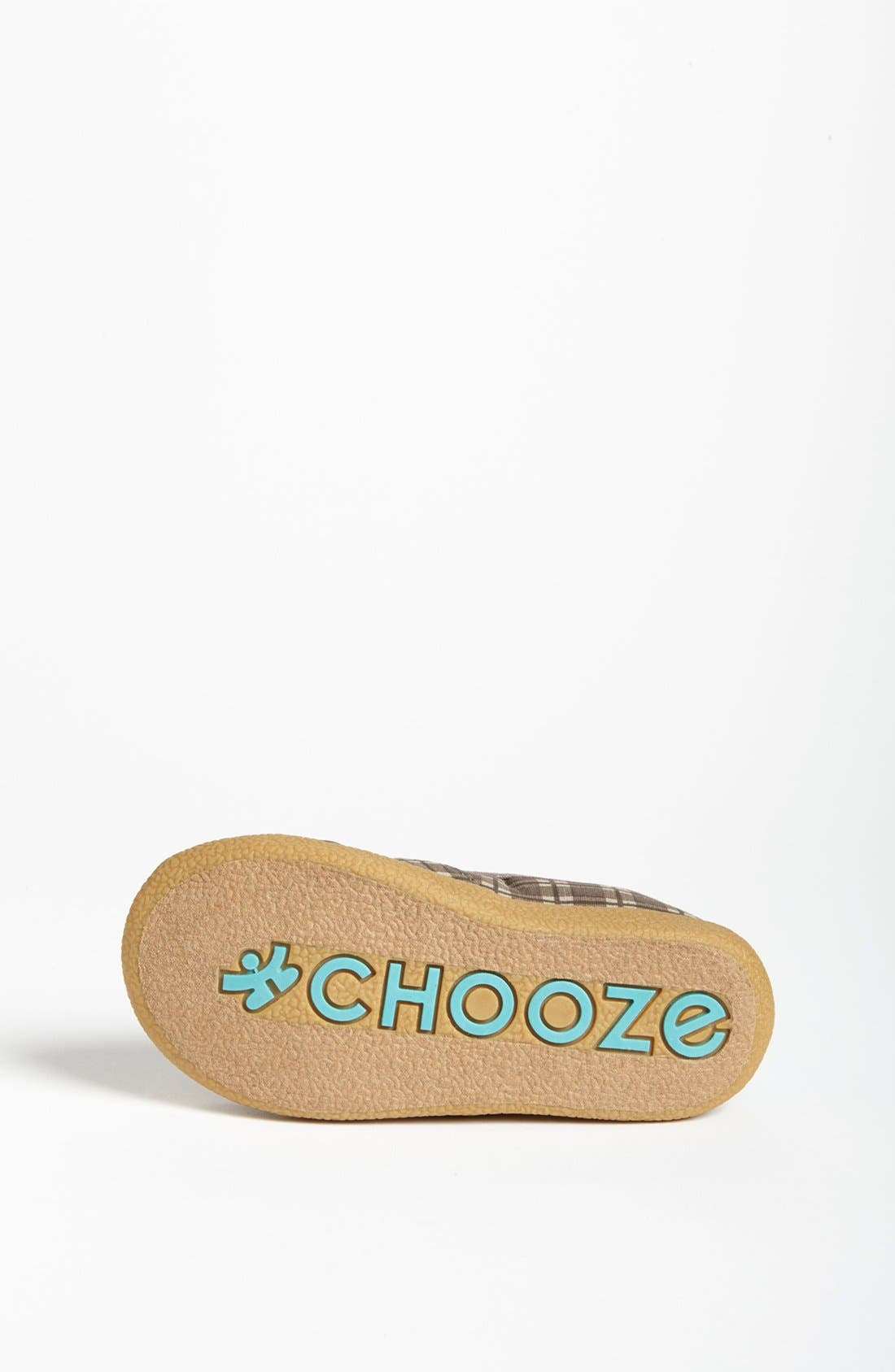 Alternate Image 4  - CHOOZE 'Scout - Study Brown' Slip-On Loafer (Toddler, Little Kid & Big Kid)