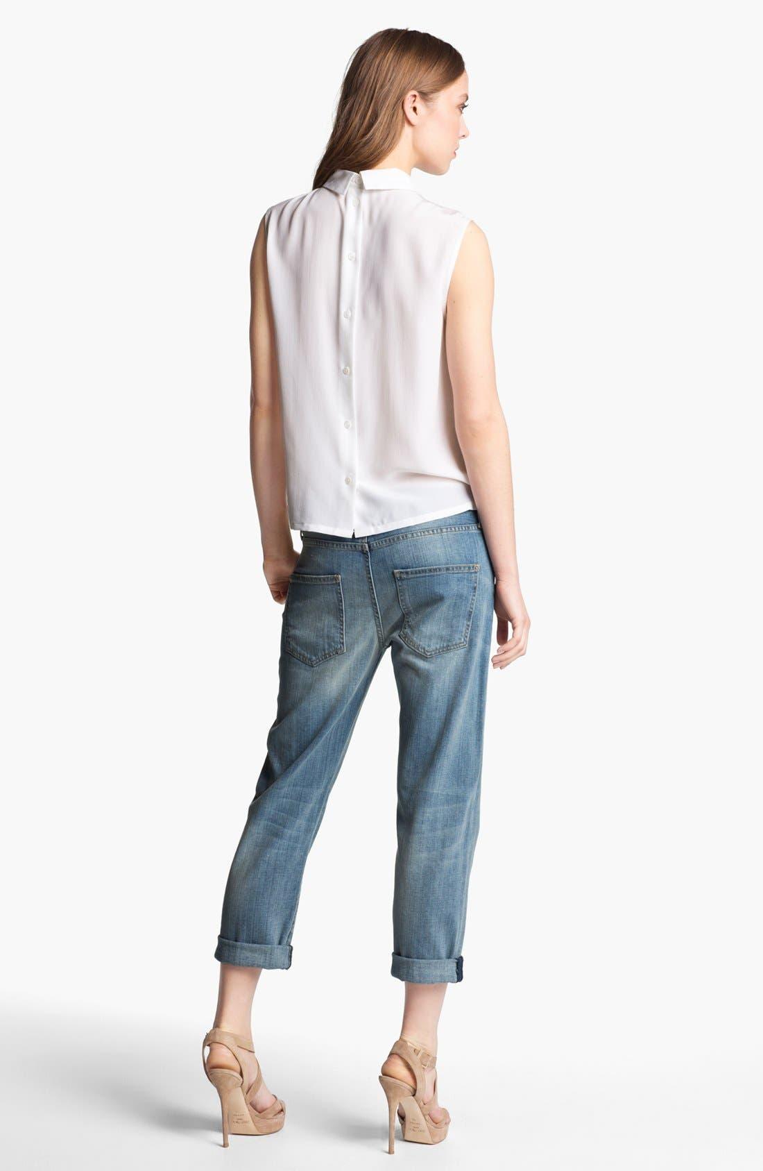 Alternate Image 2  - Equipment 'Elliott' Embellished Silk Shirt