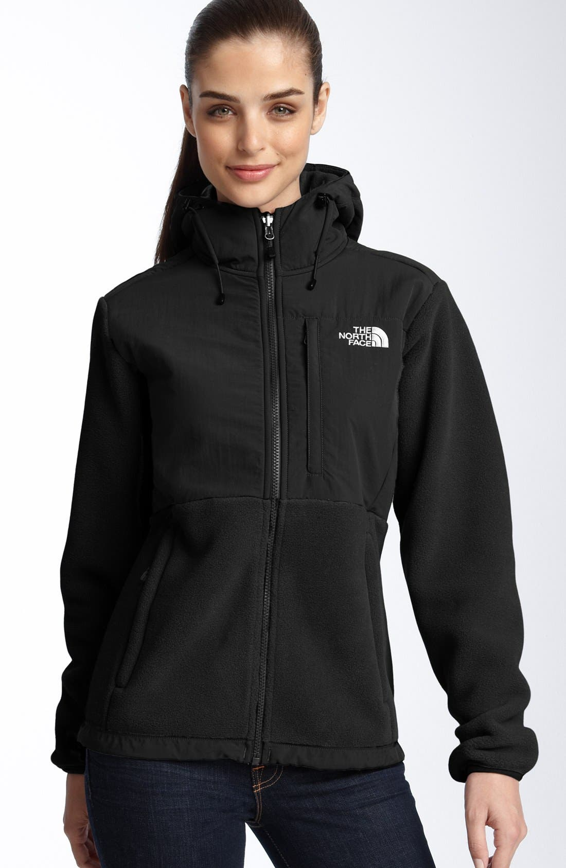 Alternate Image 1  - The North Face 'Denali' Hooded Jacket (Online Only)