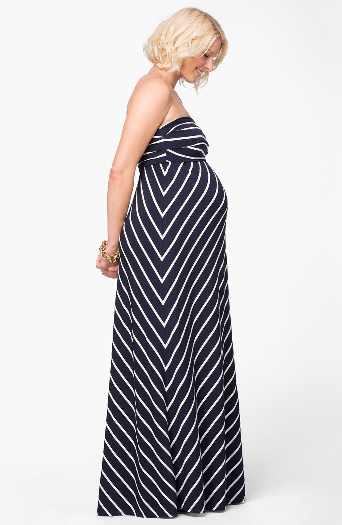 Alternate Image 3  - Ingrid & Isabel® Convertible Maternity Maxi Dress