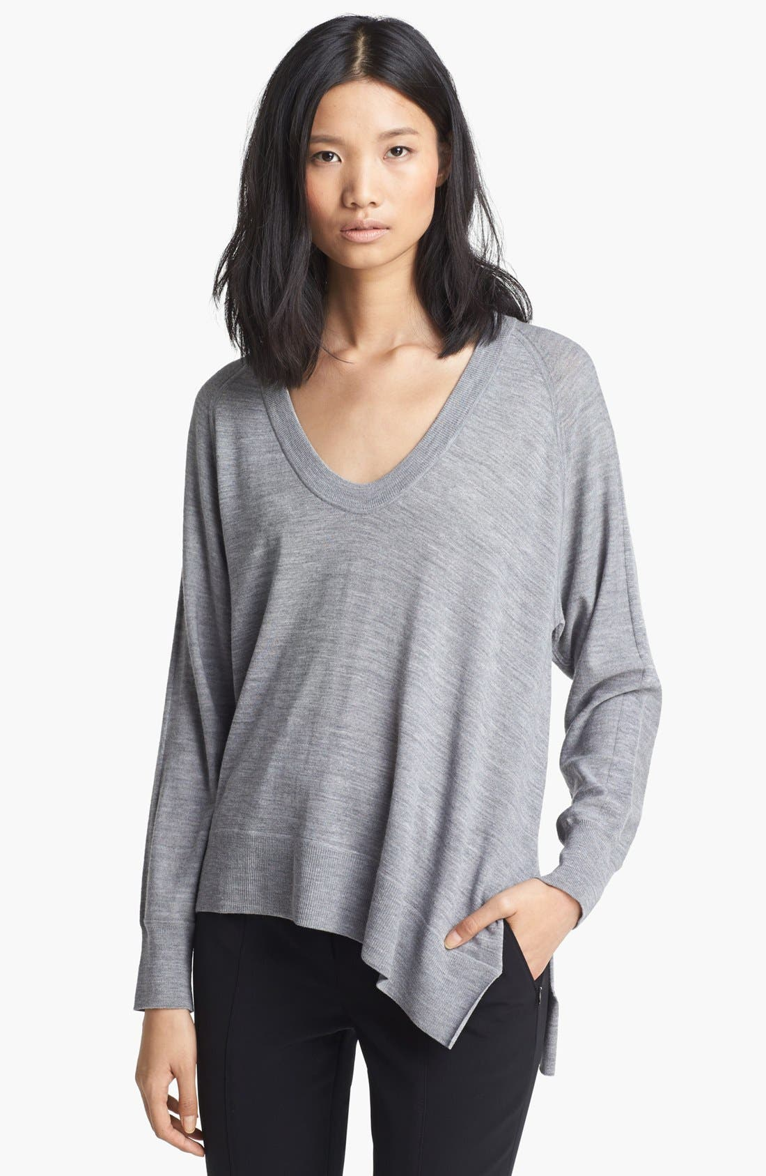 Alternate Image 1 Selected - Alexander Wang Asymmetrical Pullover