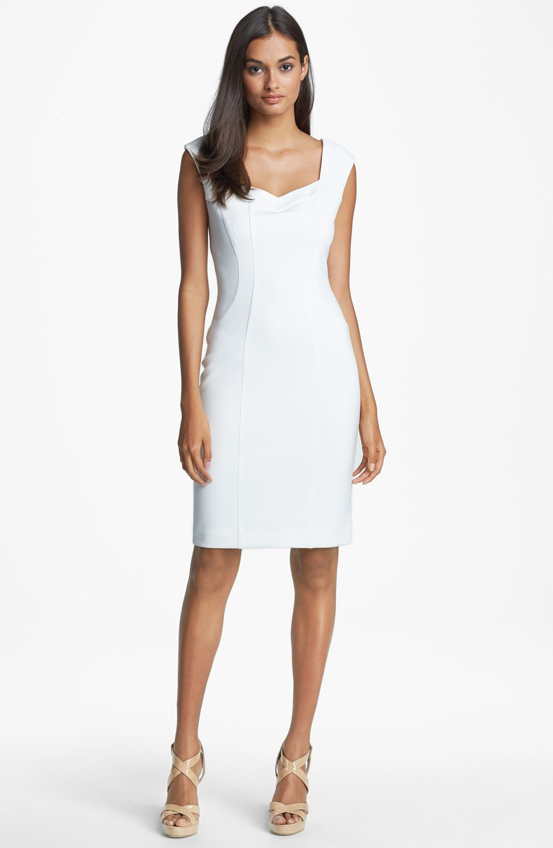 Main Image - Maggy London Seamed Sheath Dress
