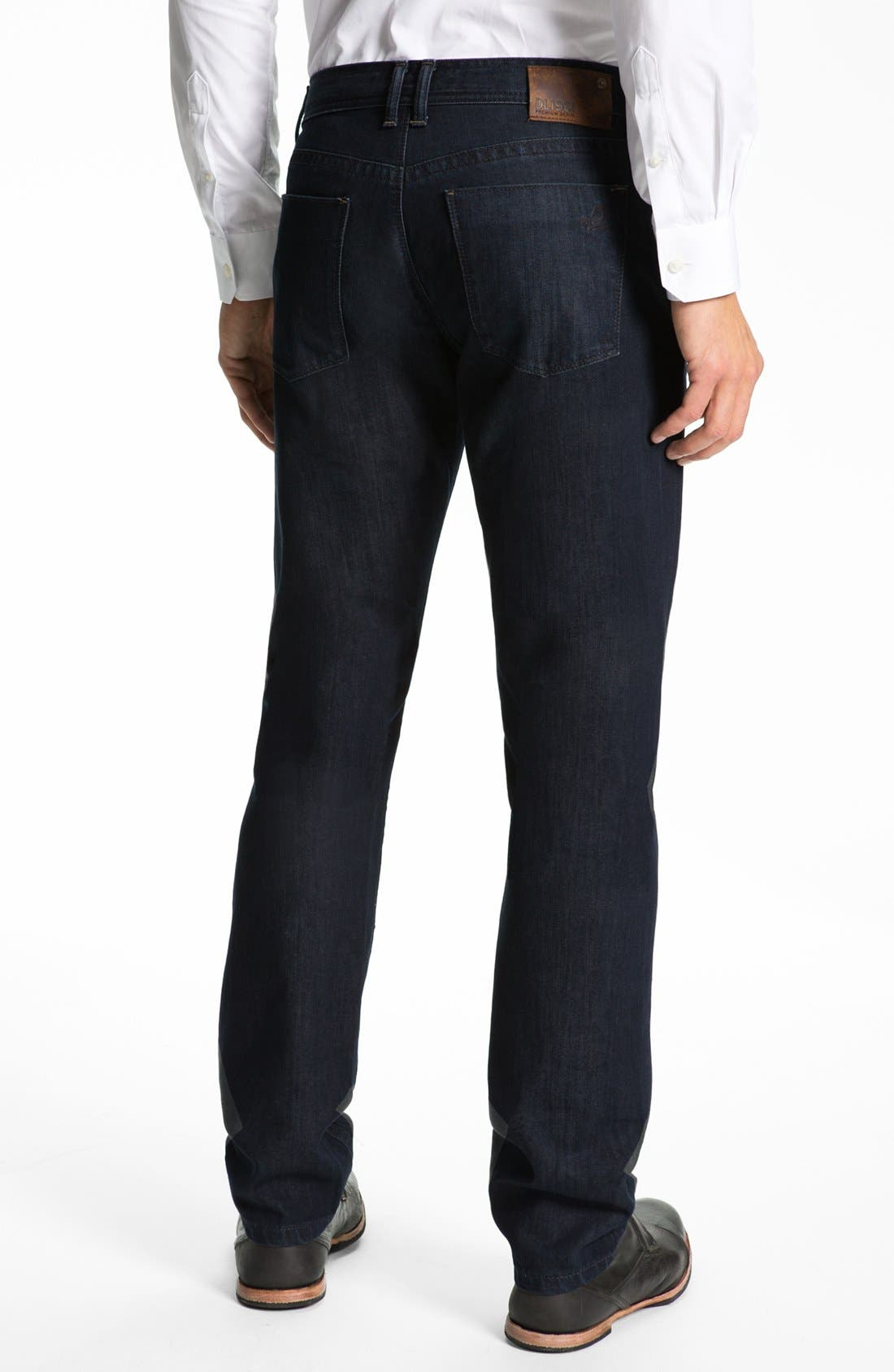 Alternate Image 2  - DL1961 'Vince' Straight Leg Jeans (Diablo)