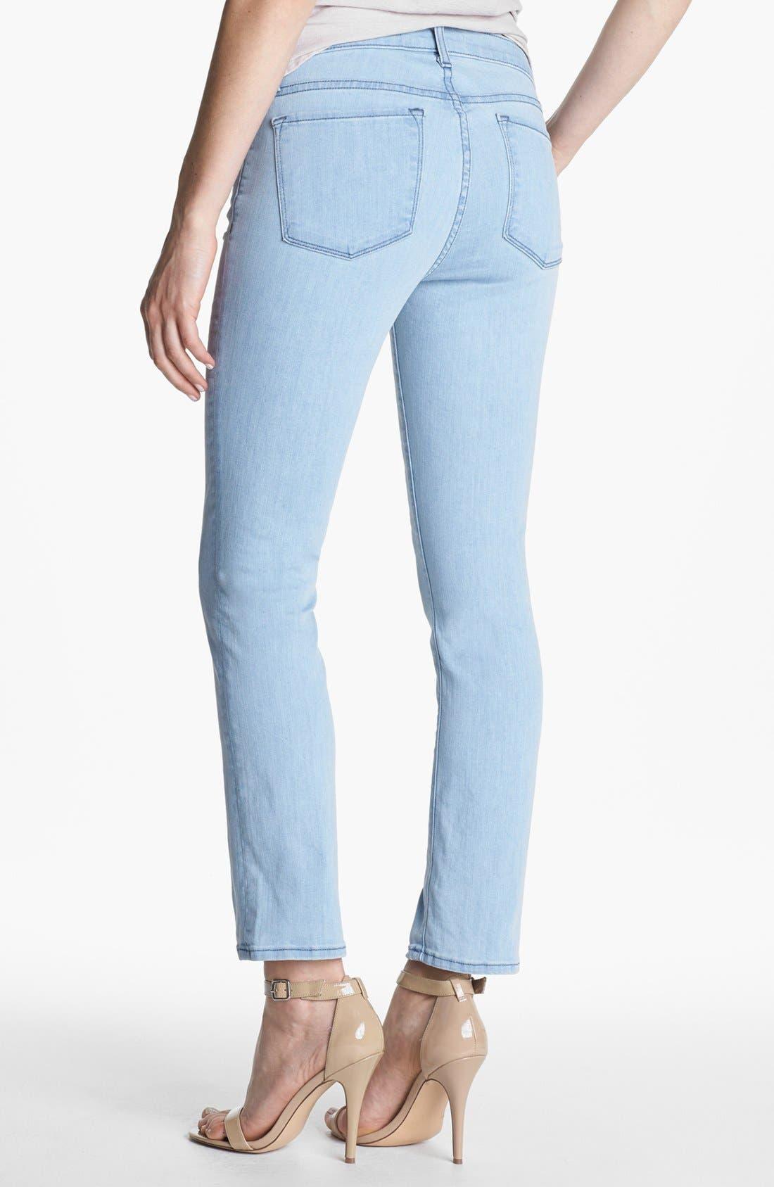 Alternate Image 2  - J Brand Pencil Leg Stretch Jeans (Beautiful Blue)