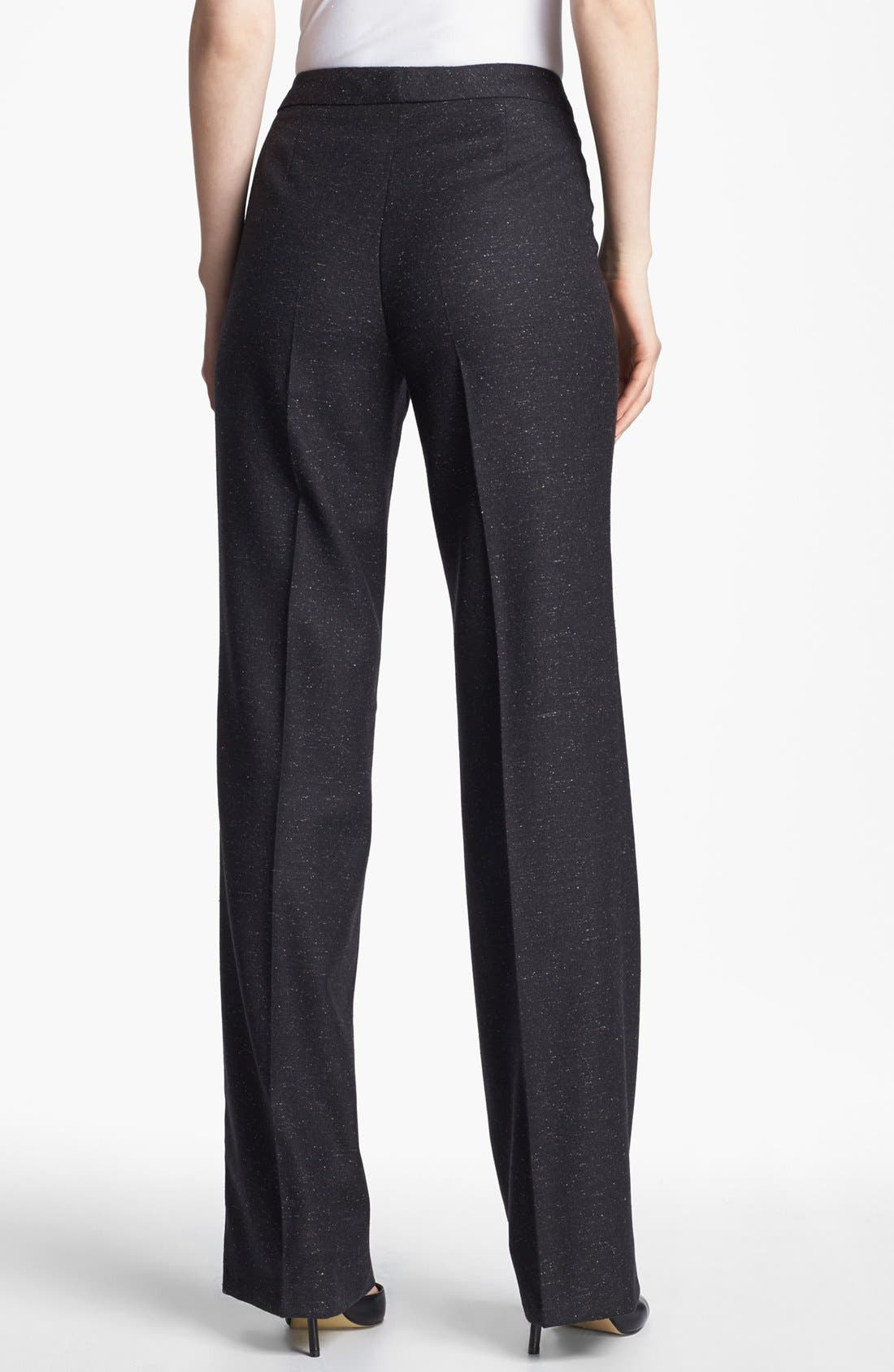 Alternate Image 2  - Santorelli 'Mara' Tweed Trousers