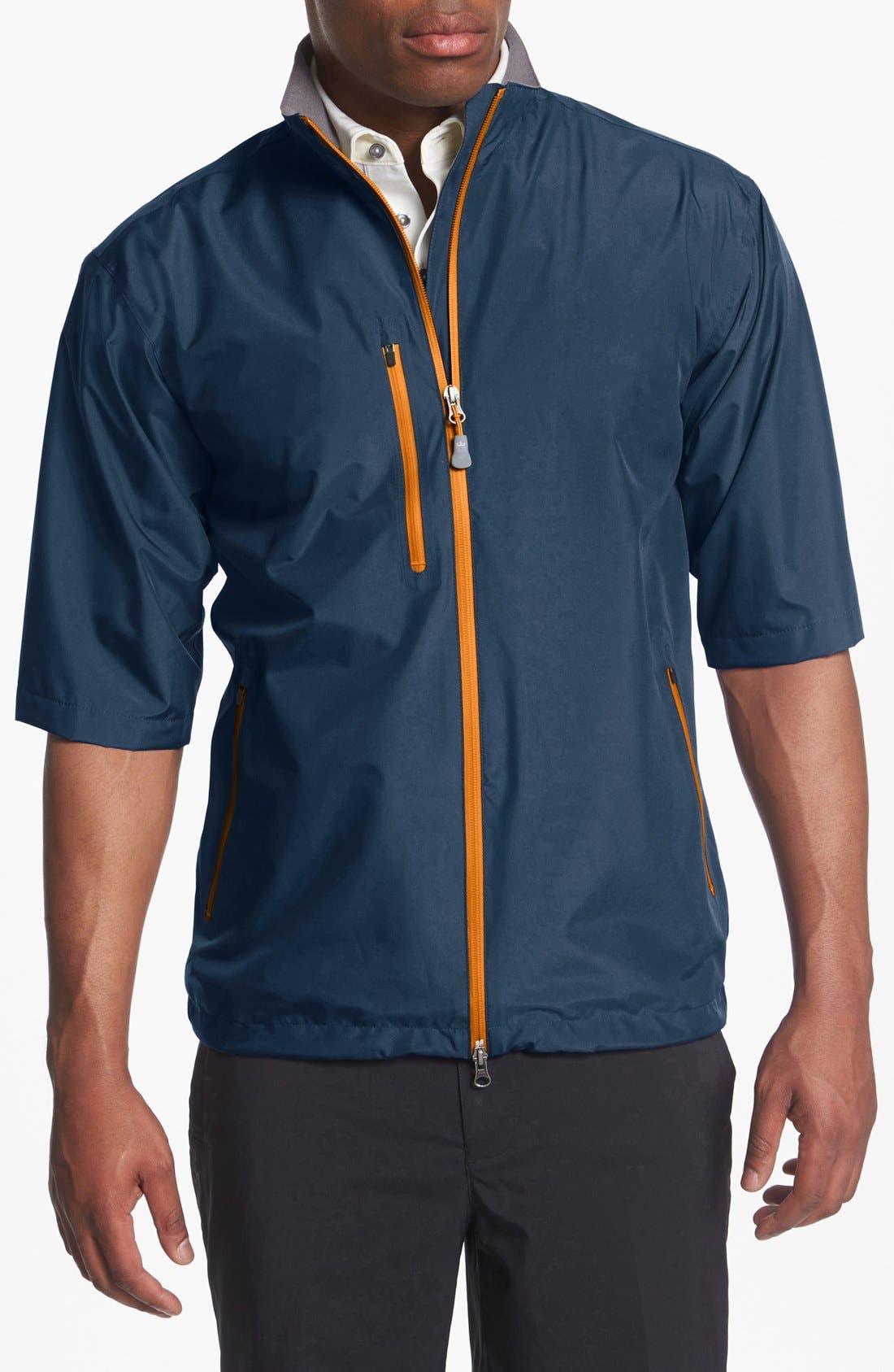 Main Image - Peter Millar 'Toronto' Short Sleeve Rain Jacket