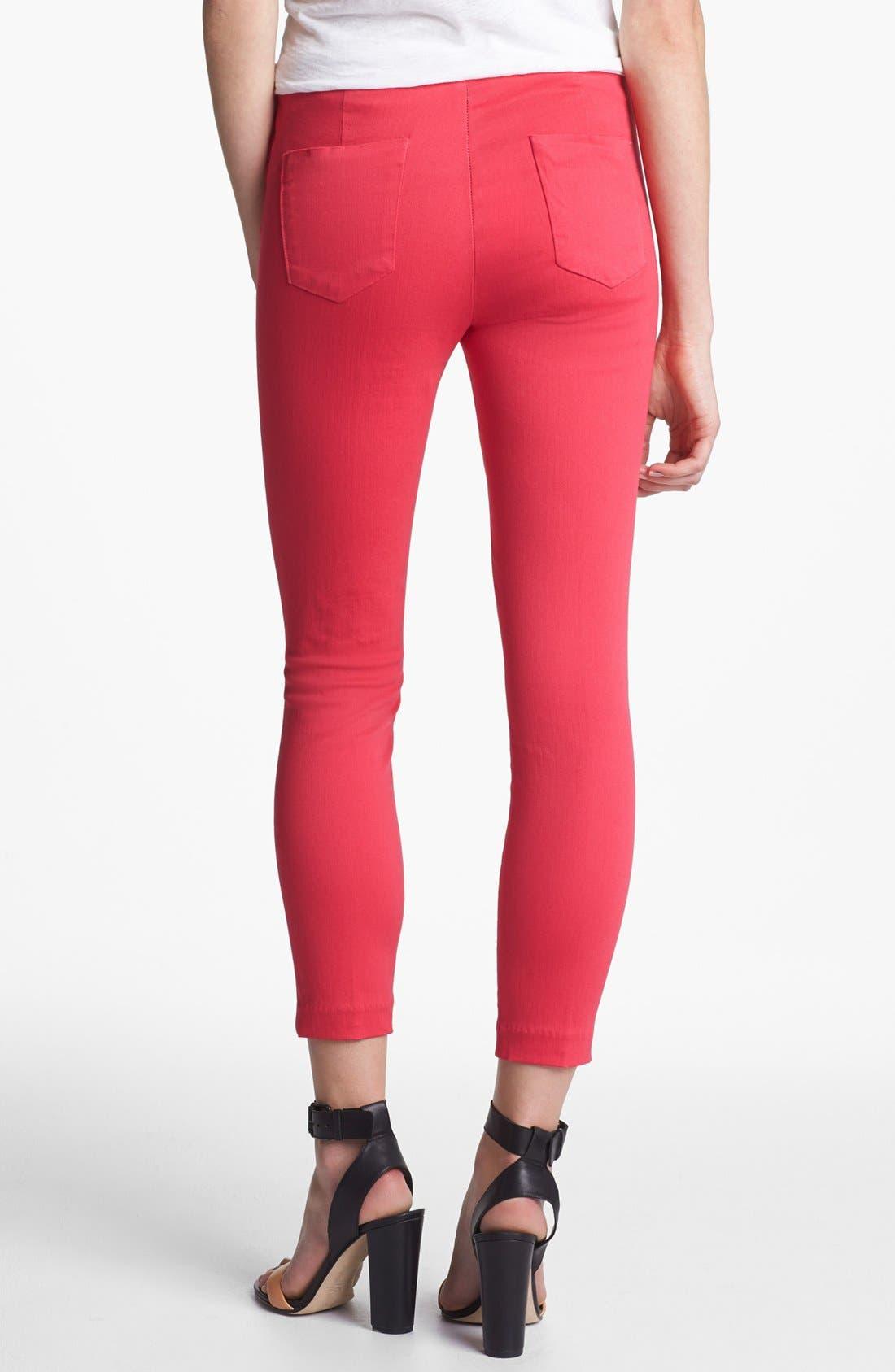 Alternate Image 2  - J Brand 'Clean' Stretch Capri Pants