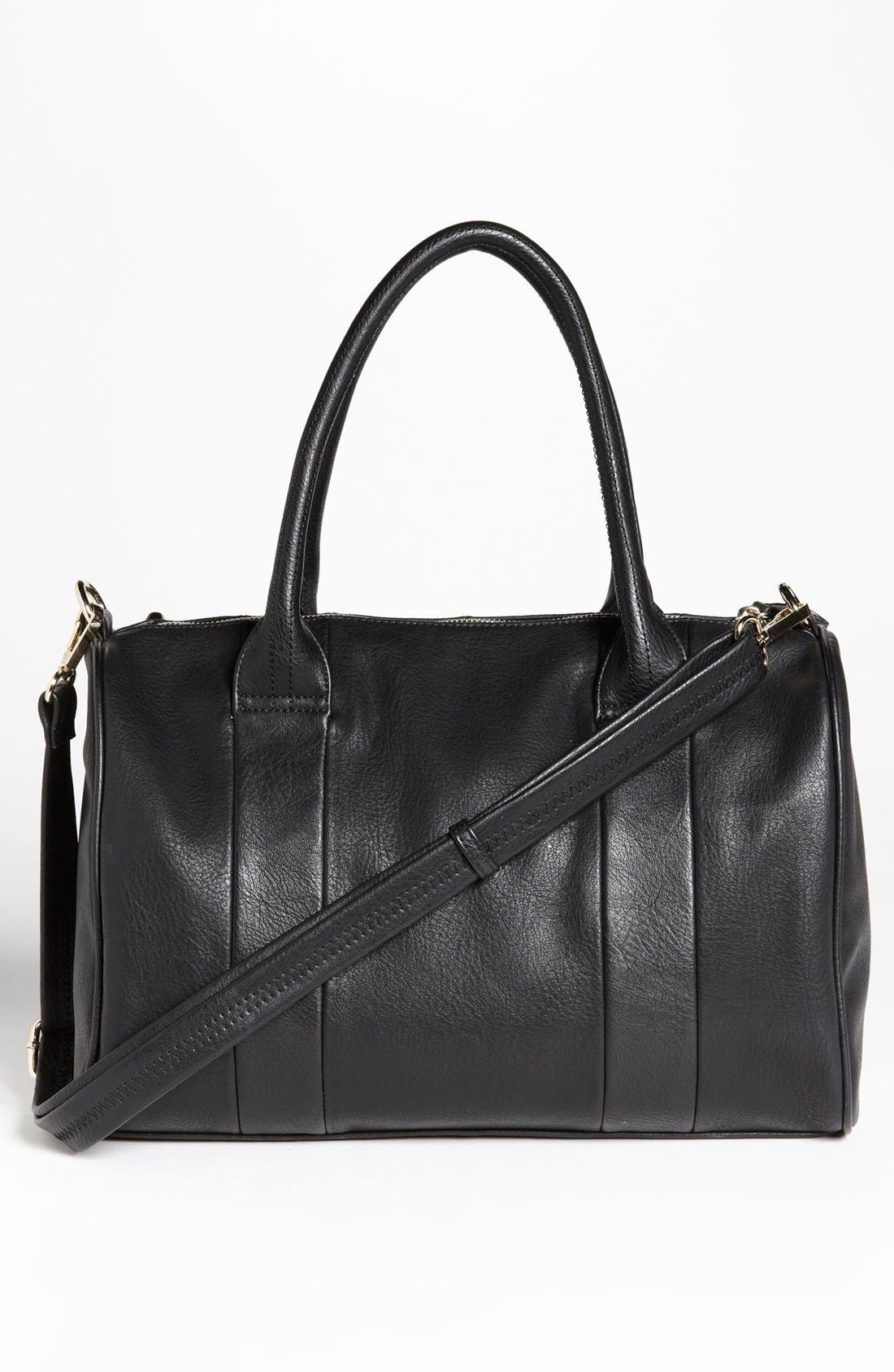 Alternate Image 4  - Emperia Studded Faux Leather Barrel Bag, Large