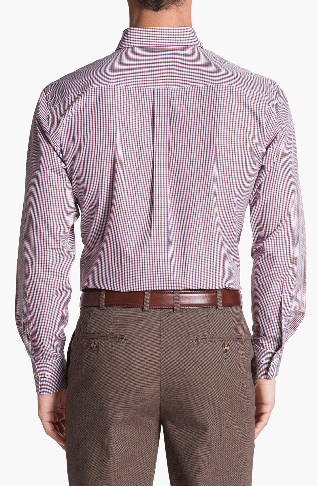 Alternate Image 2  - Peter Millar Regular Fit Sport Shirt (Tall)