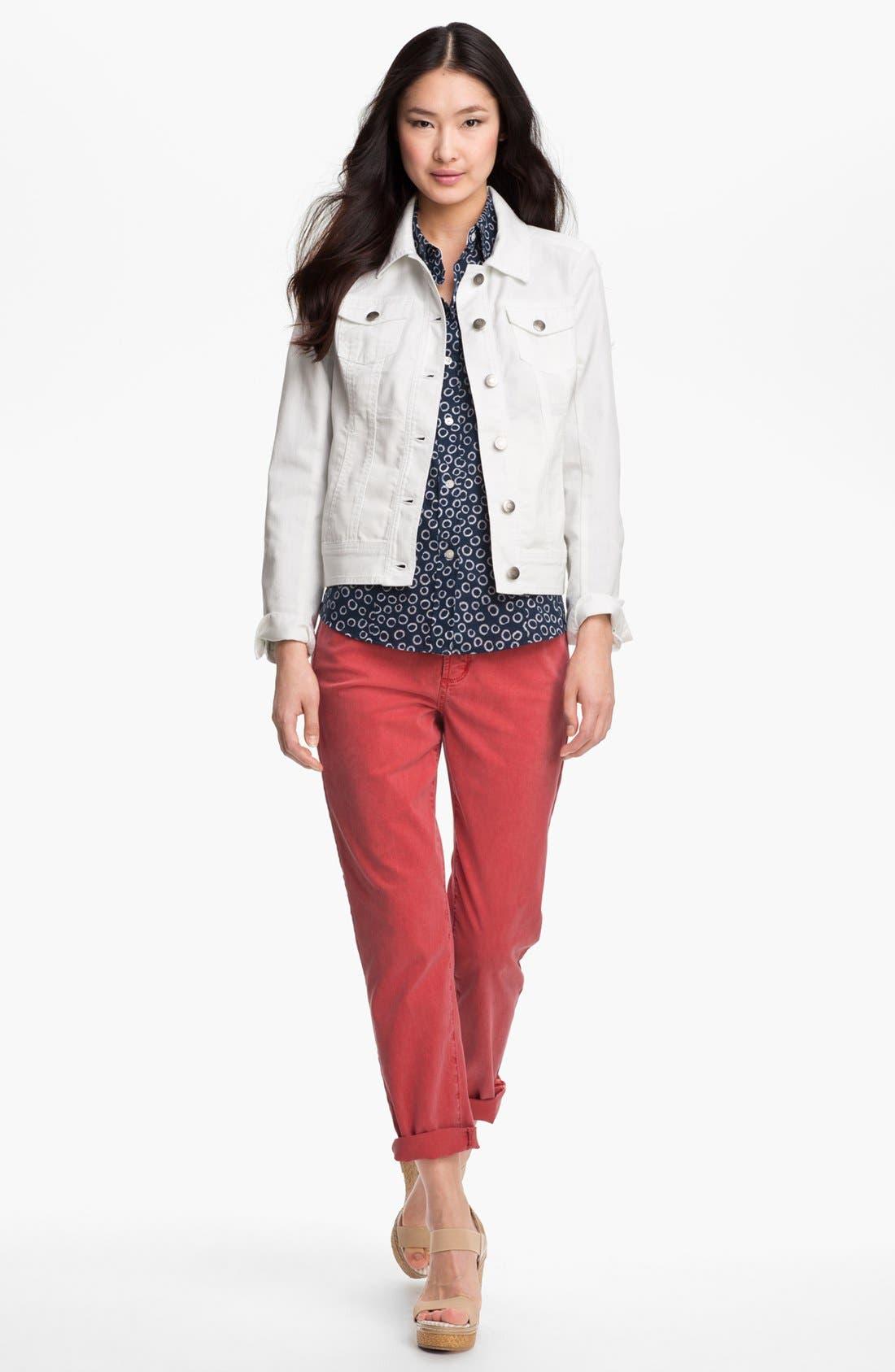 Alternate Image 3  - Amber Sun Modern Denim Jacket