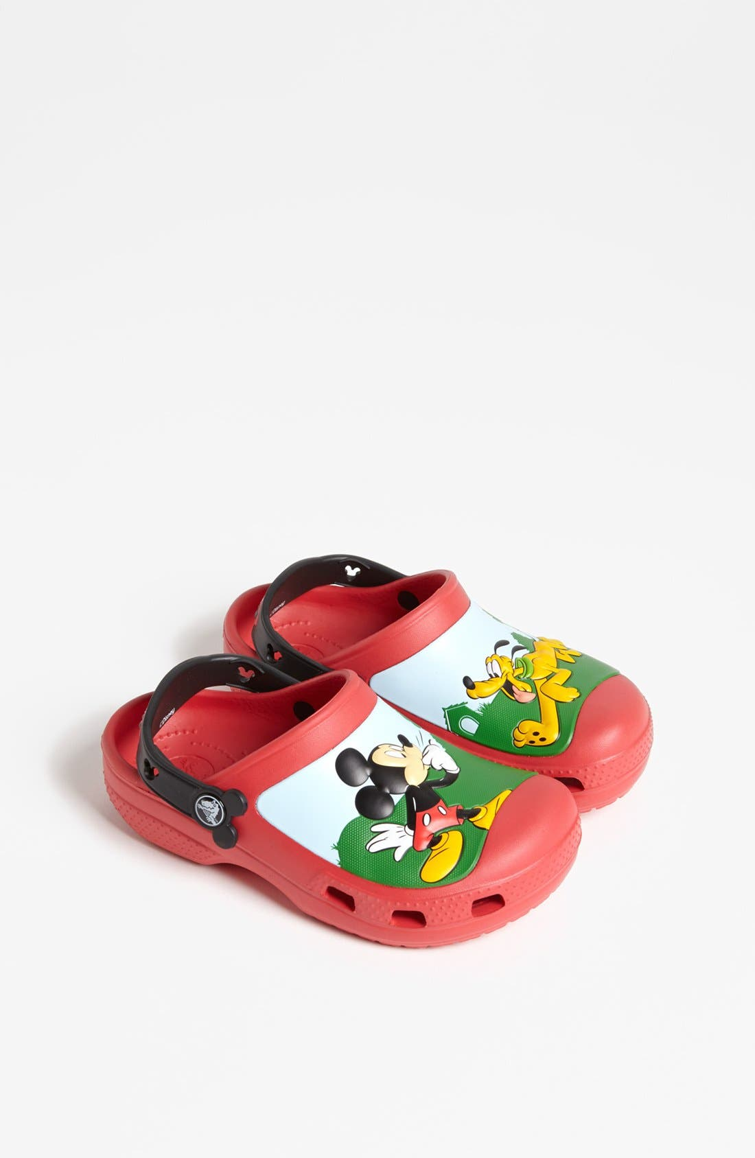 Main Image - CROCS™ 'Mickey® Whistles' Clog (Walker, Toddler &  Little Kid)
