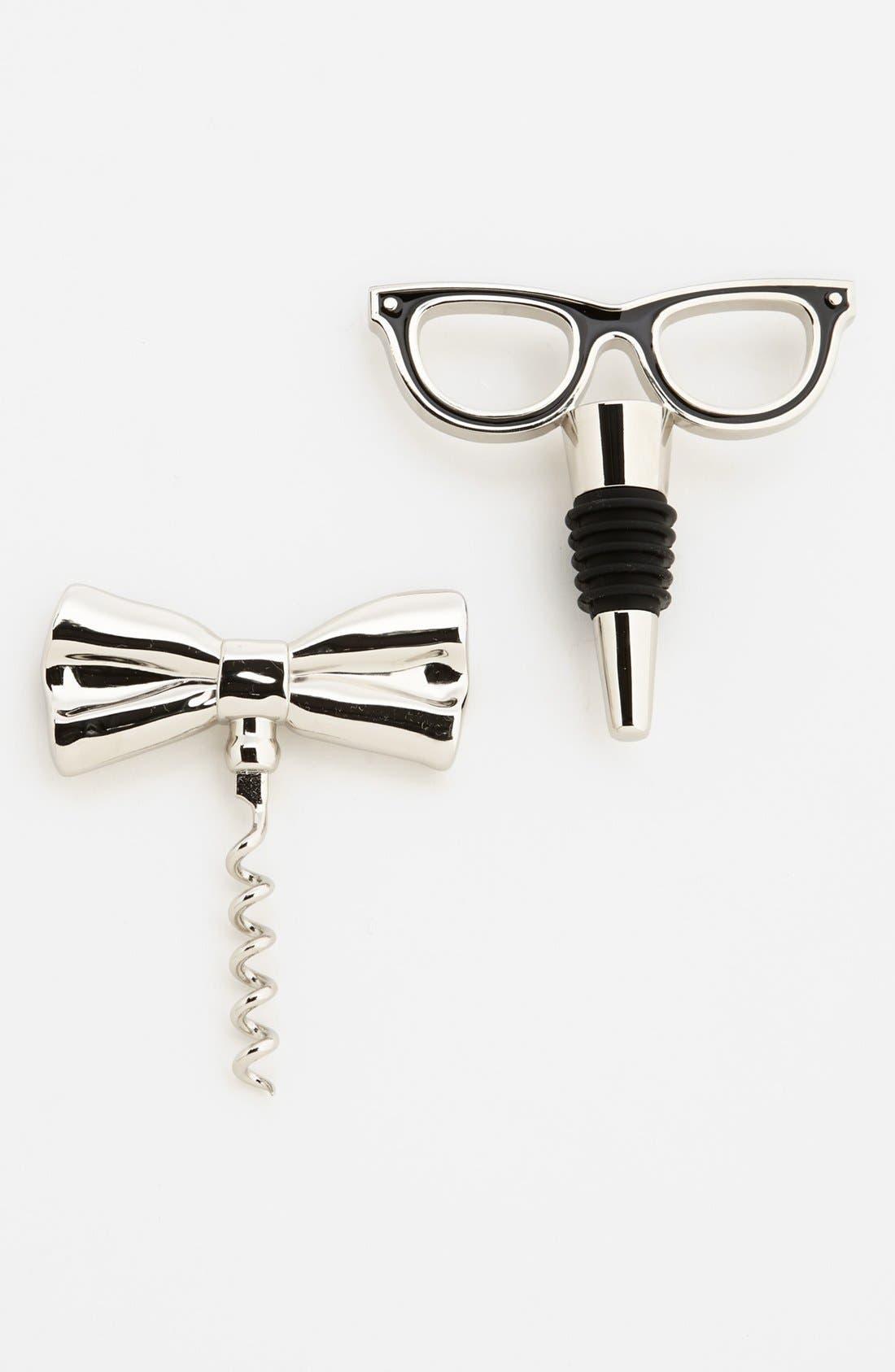 Alternate Image 1 Selected - kate spade new york 'two of a kind™' corkscrew & bottle stopper
