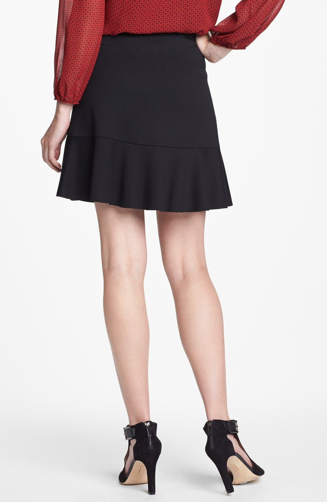 Alternate Image 2  - Vince Camuto Ruffle A-Line Skirt (Nordstrom Exclusive)