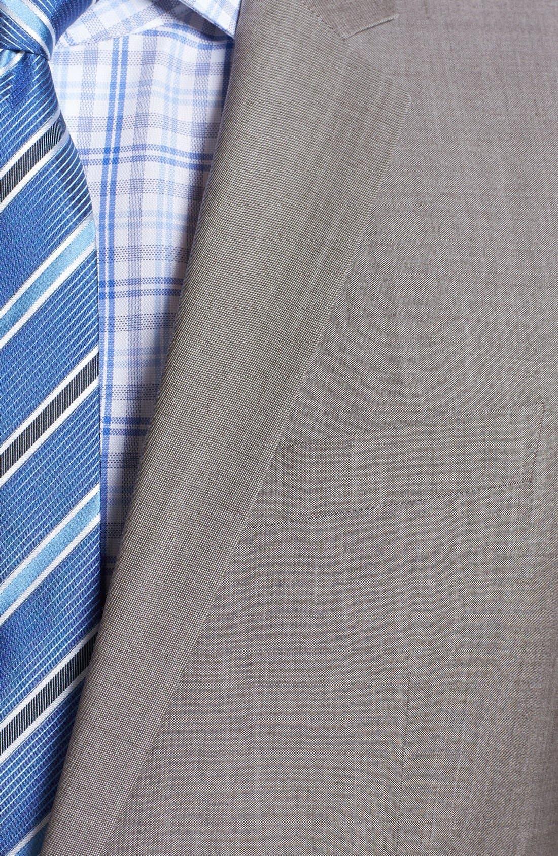 Alternate Image 2  - HUGO 'Amaro/Heise' Extra Trim Fit Suit