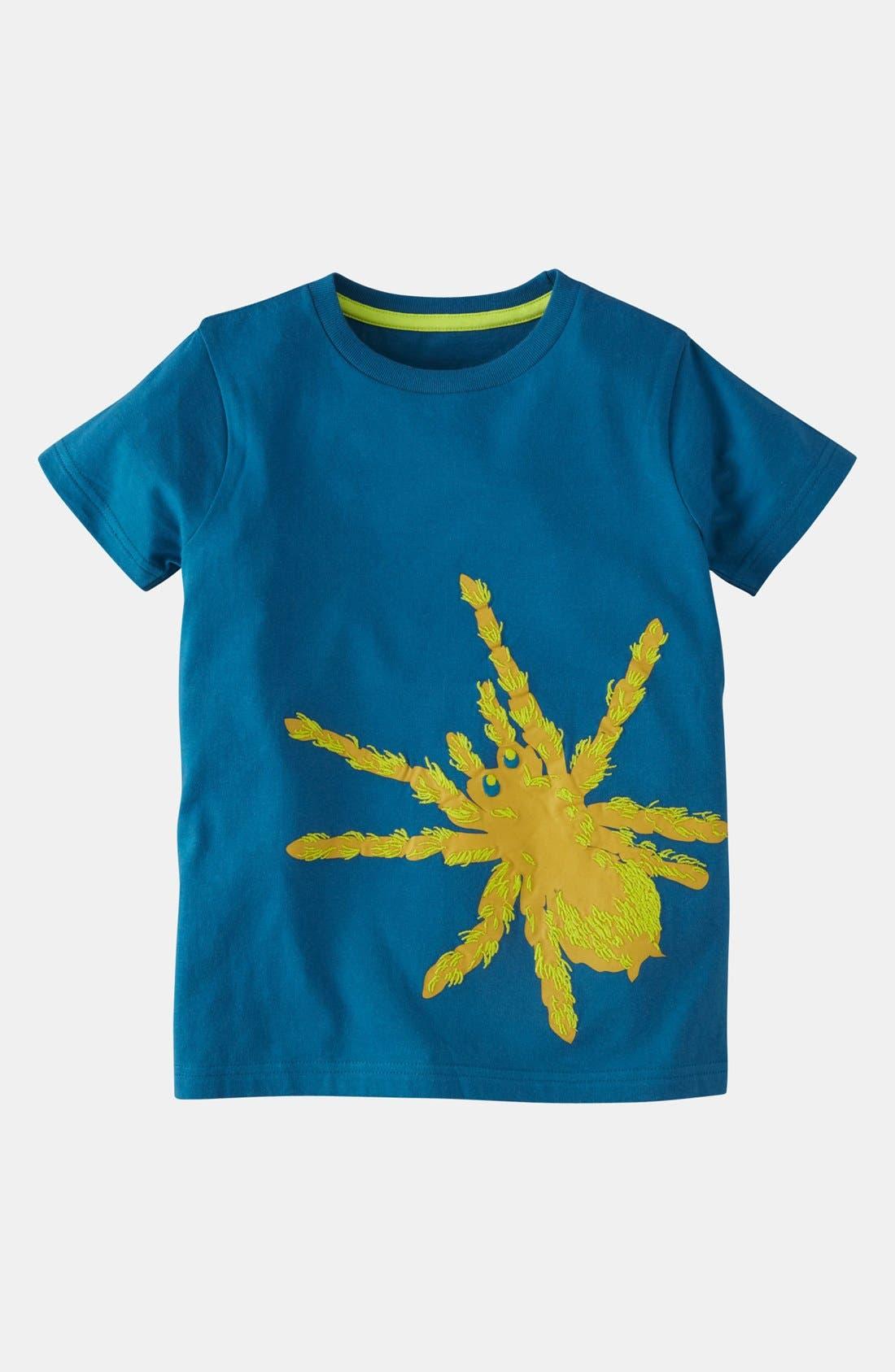 Alternate Image 1 Selected - Mini Boden 'Print & Stitch' T-Shirt (Toddler Boys)