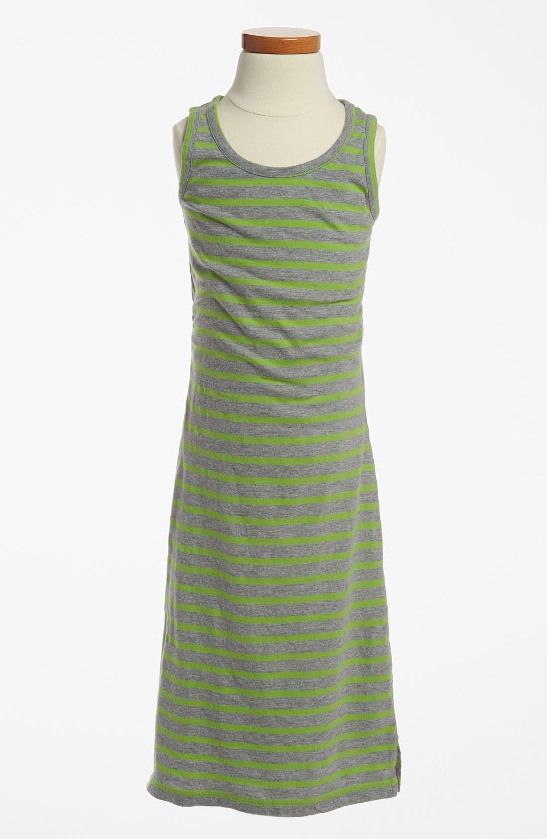 Alternate Image 1 Selected - Peek 'Olive' Maxi Dress (Big Girls)