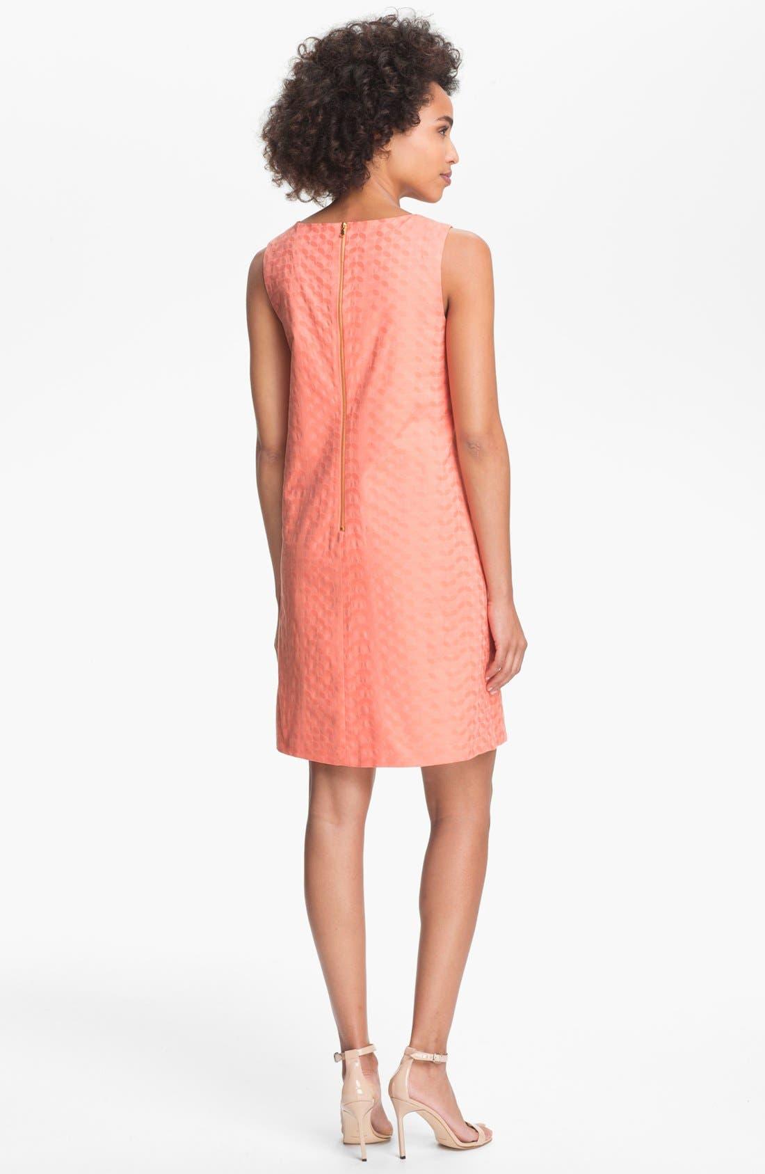 Alternate Image 2  - Donna Morgan Embellished Shift Dress (Petite)