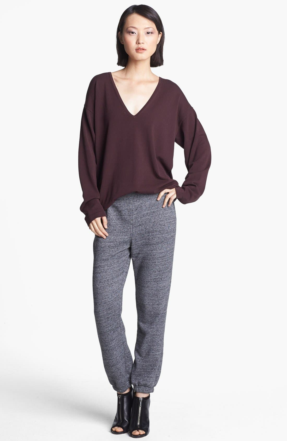 Alternate Image 1 Selected - T by Alexander Wang Pullover & Sweatpants