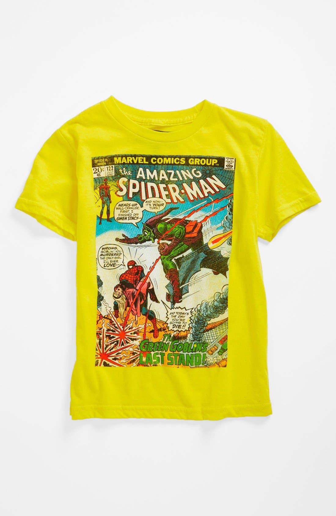 Alternate Image 1 Selected - Jem 'Green Goblin' Thermocolor T-Shirt (Little Boys)