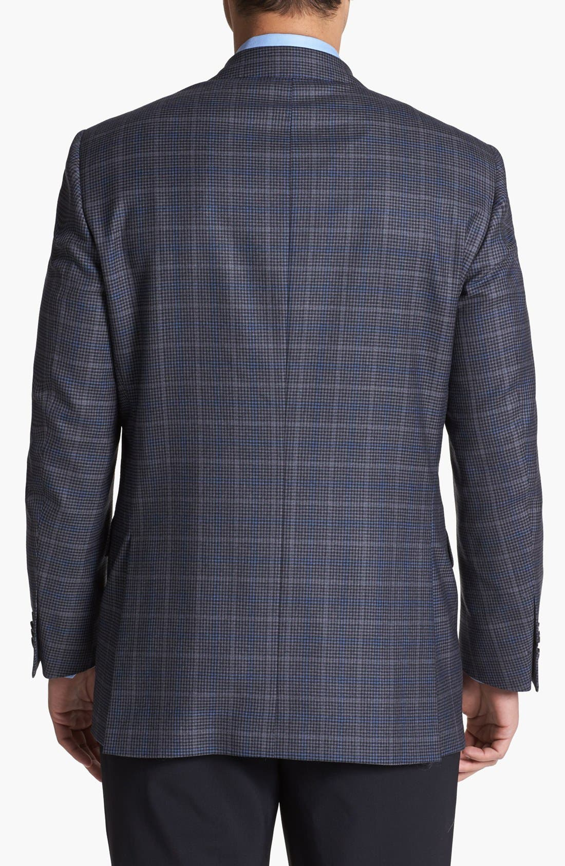 Alternate Image 3  - Peter Millar Check Wool Sportcoat