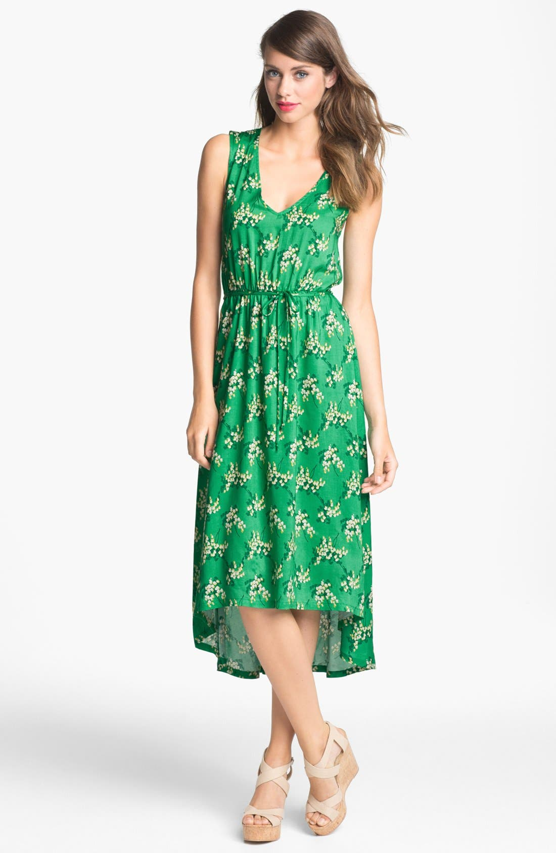 Alternate Image 1 Selected - Olivia Moon Print High/Low Dress