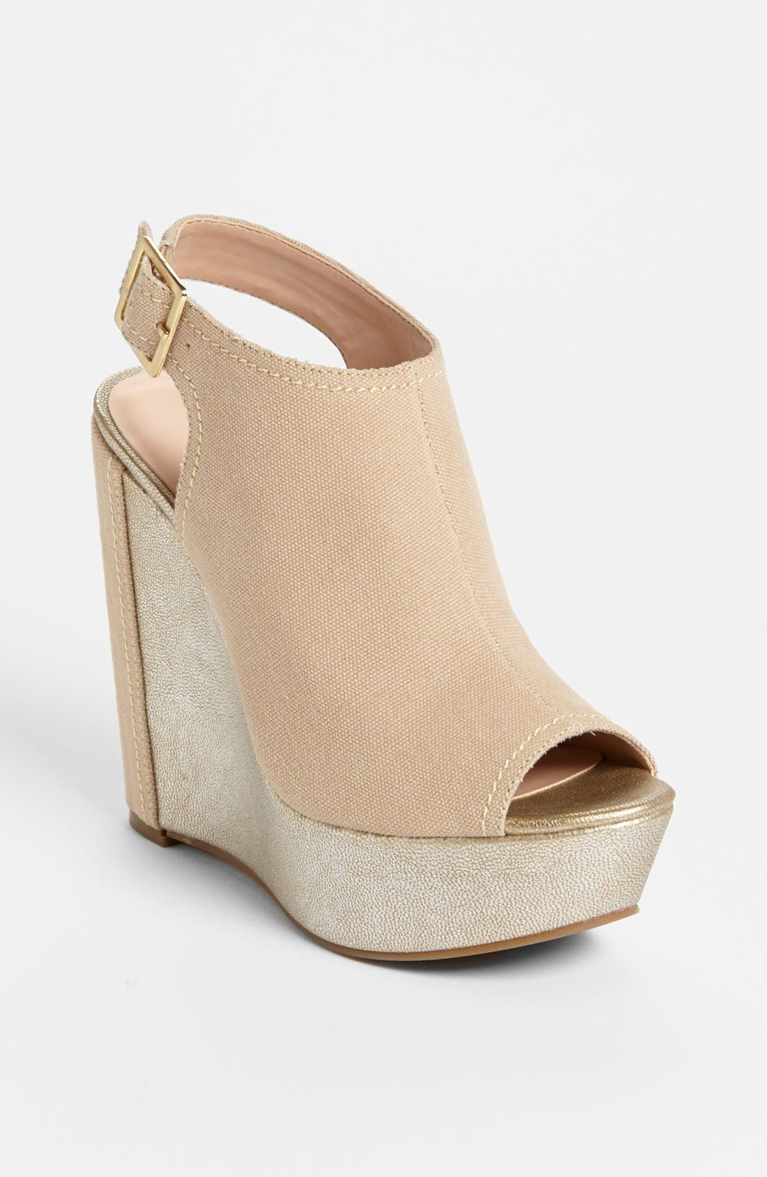 Alternate Image 1 Selected - Julianne Hough for Sole Society 'Erinn' Wedge Sandal