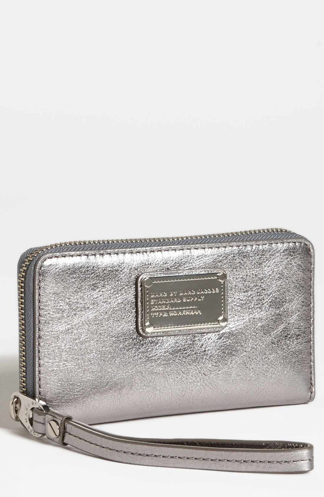 Main Image - MARC BY MARC JACOBS 'Classic Q - Wingman' iPhone 5 & 5S Wristlet
