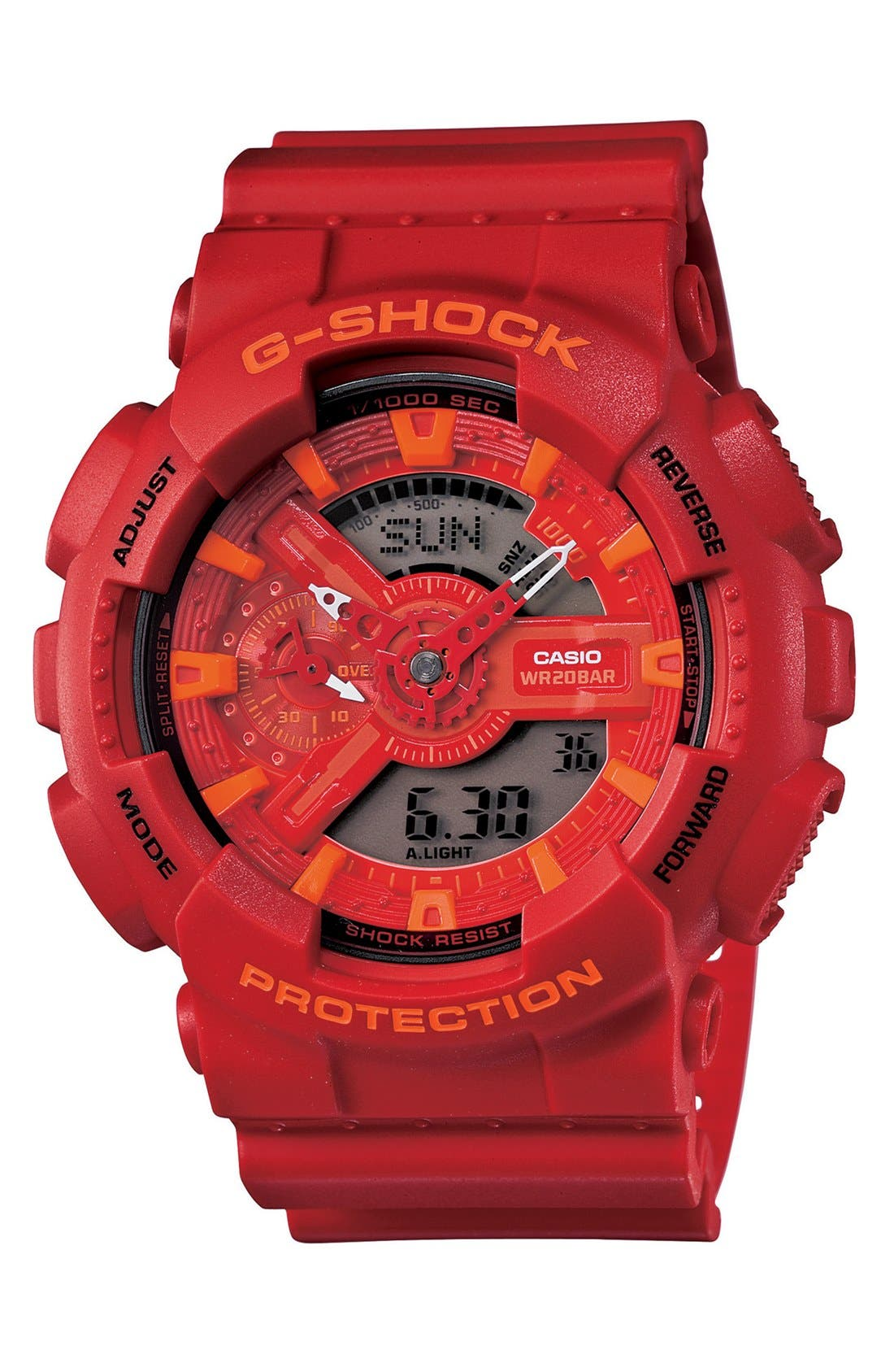 Alternate Image 1 Selected - G-Shock 'X-Large Big Combi' Watch, 55mm x 51mm