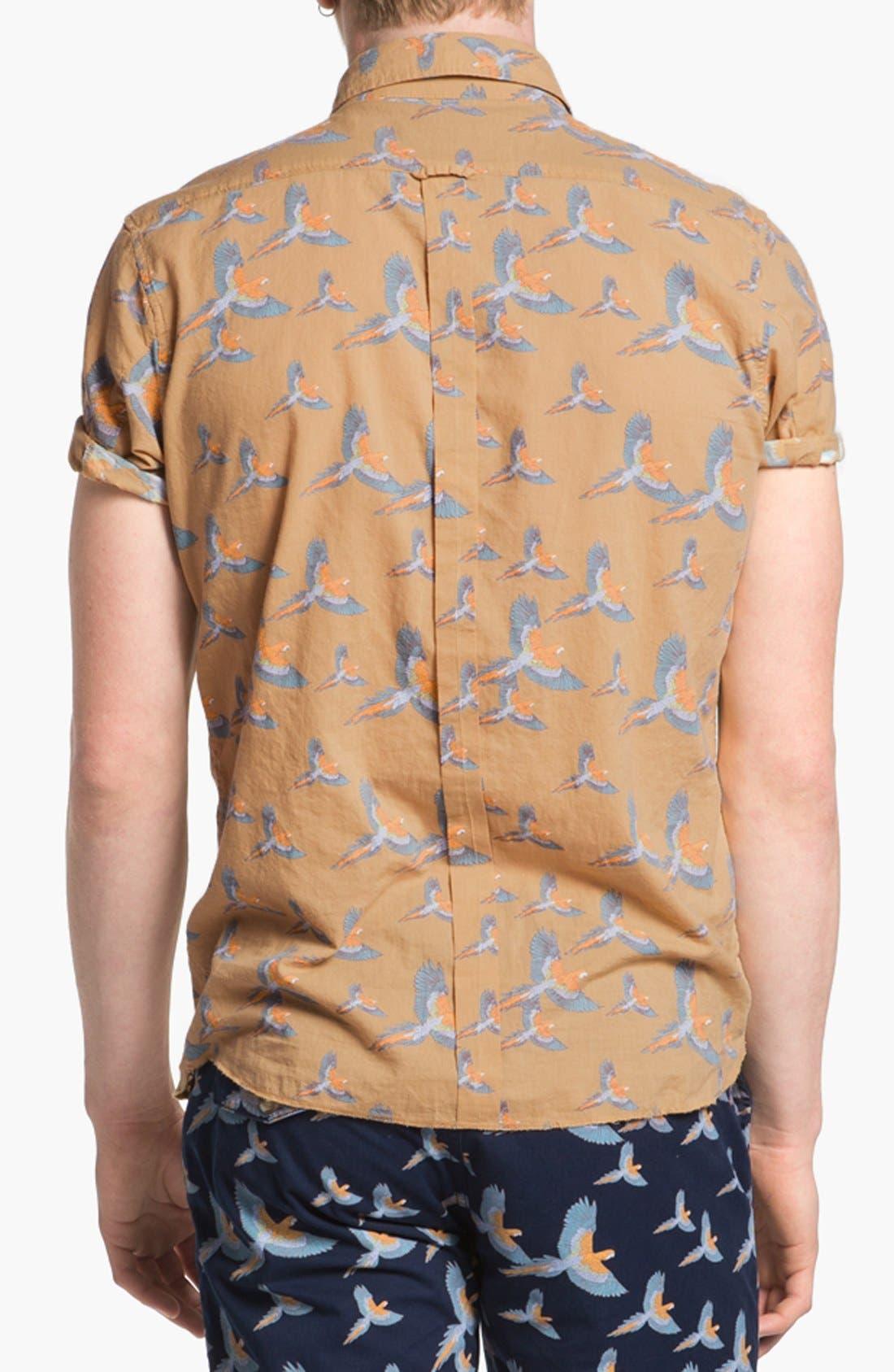 Alternate Image 3  - ZANEROBE Print Woven Shirt