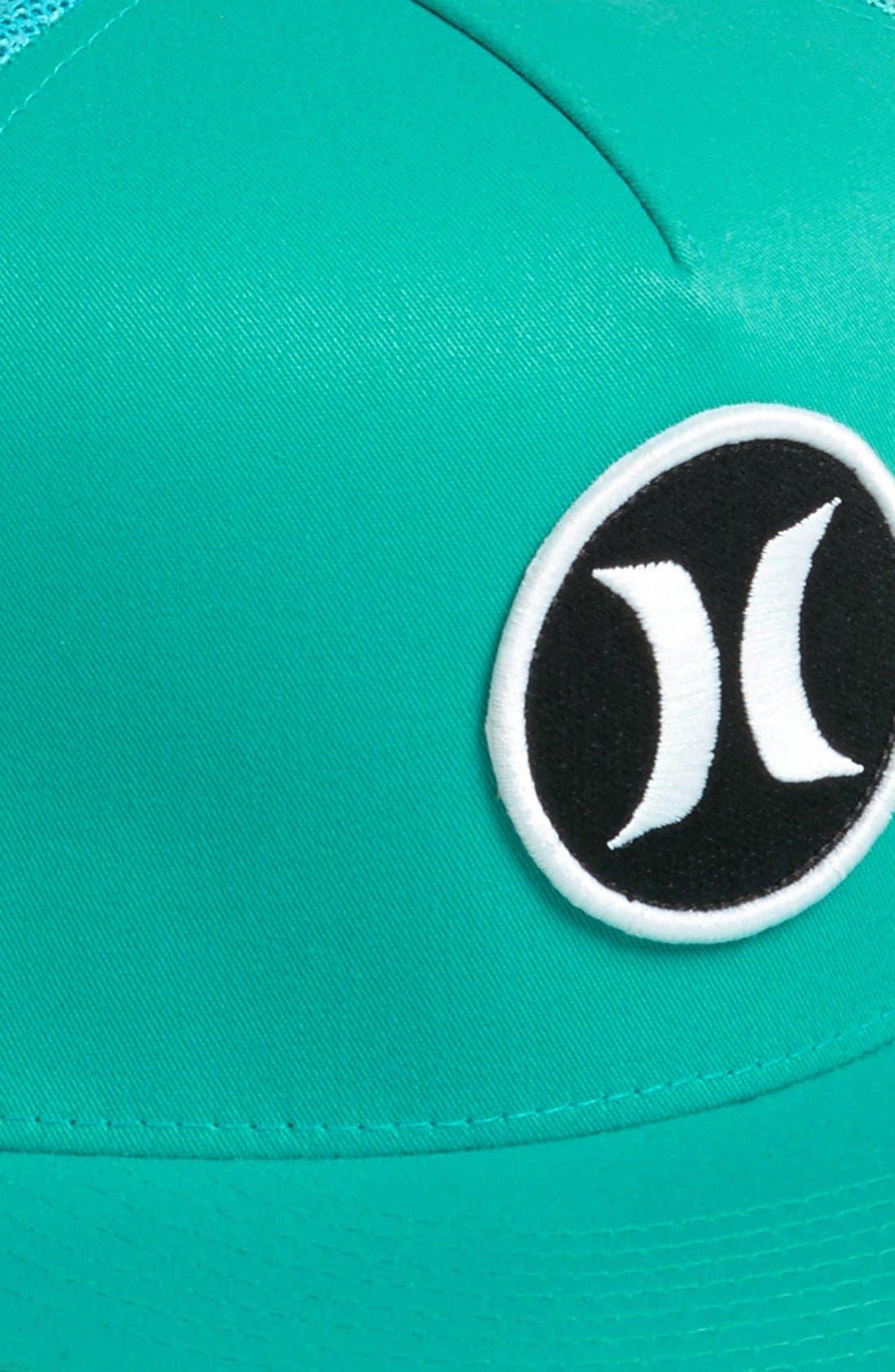 Alternate Image 2  - Hurley 'Block Party' Trucker Hat