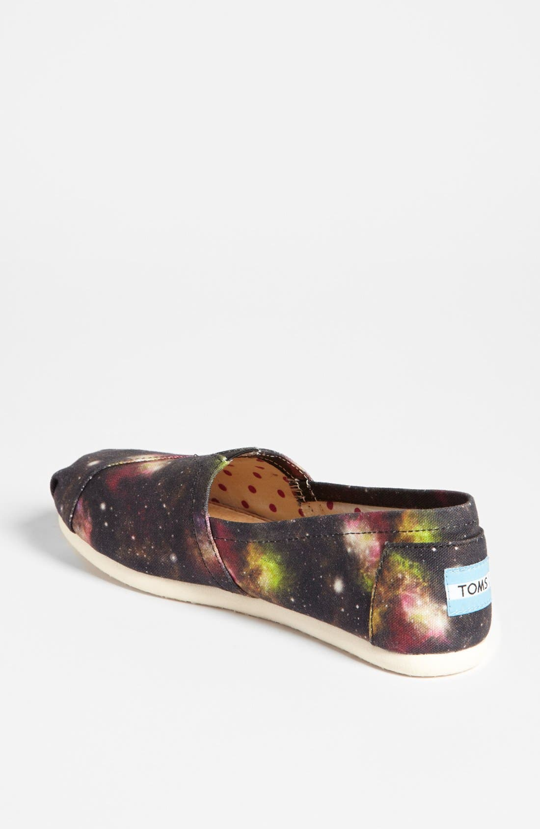 Alternate Image 2  - TOMS 'Classic - Black Nebula' Slip-On (Women) (Exclusive Color)