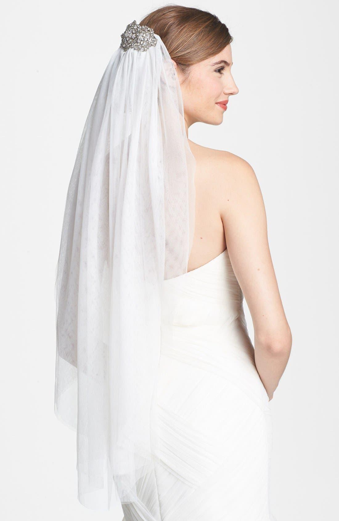 Alternate Image 1 Selected - Tasha Crystal Veil