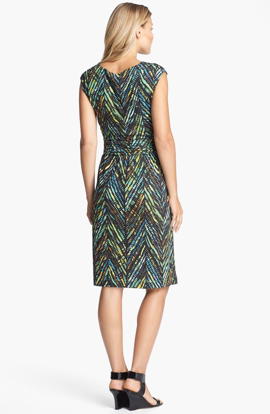 Alternate Image 2  - NIC+ZOE Print Dress