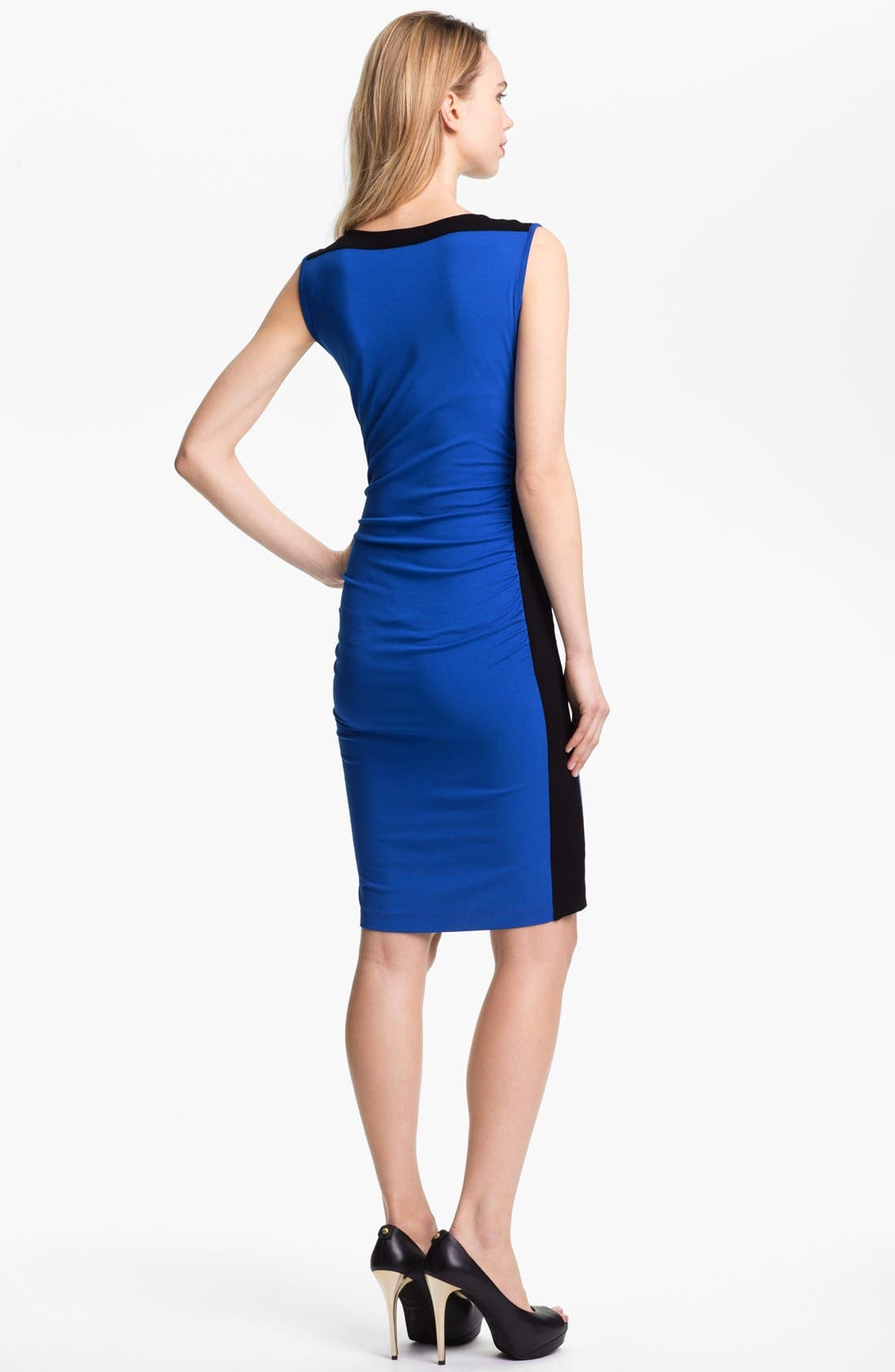 Alternate Image 2  - Vince Camuto Colorblock Sleeveless Dress