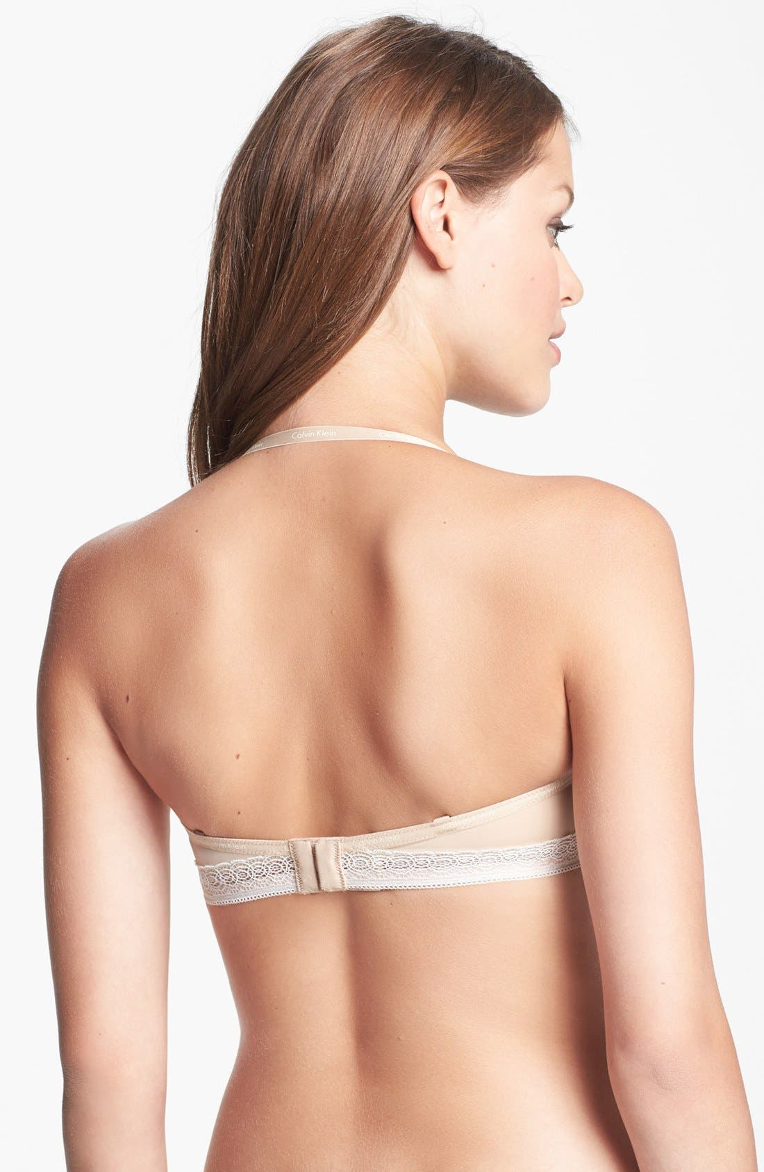 Alternate Image 5  - Calvin Klein 'Perfectly Fit' Convertible Bandeau Bra