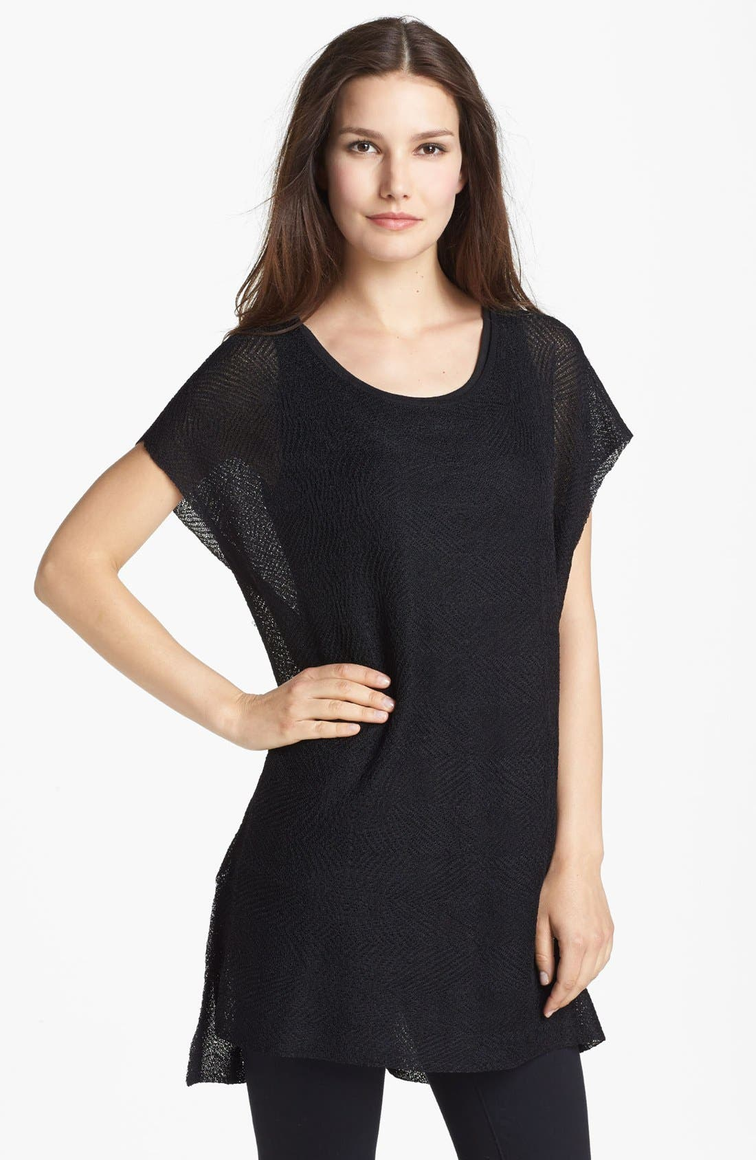 Alternate Image 1 Selected - Eileen Fisher Bateau Neck Tunic