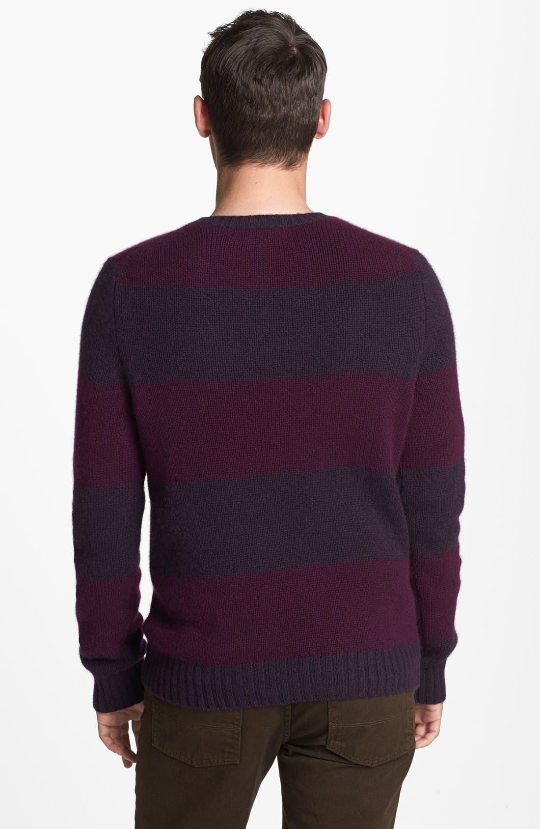 Alternate Image 2  - Vince 'Rugby' Cashmere Crewneck Sweater