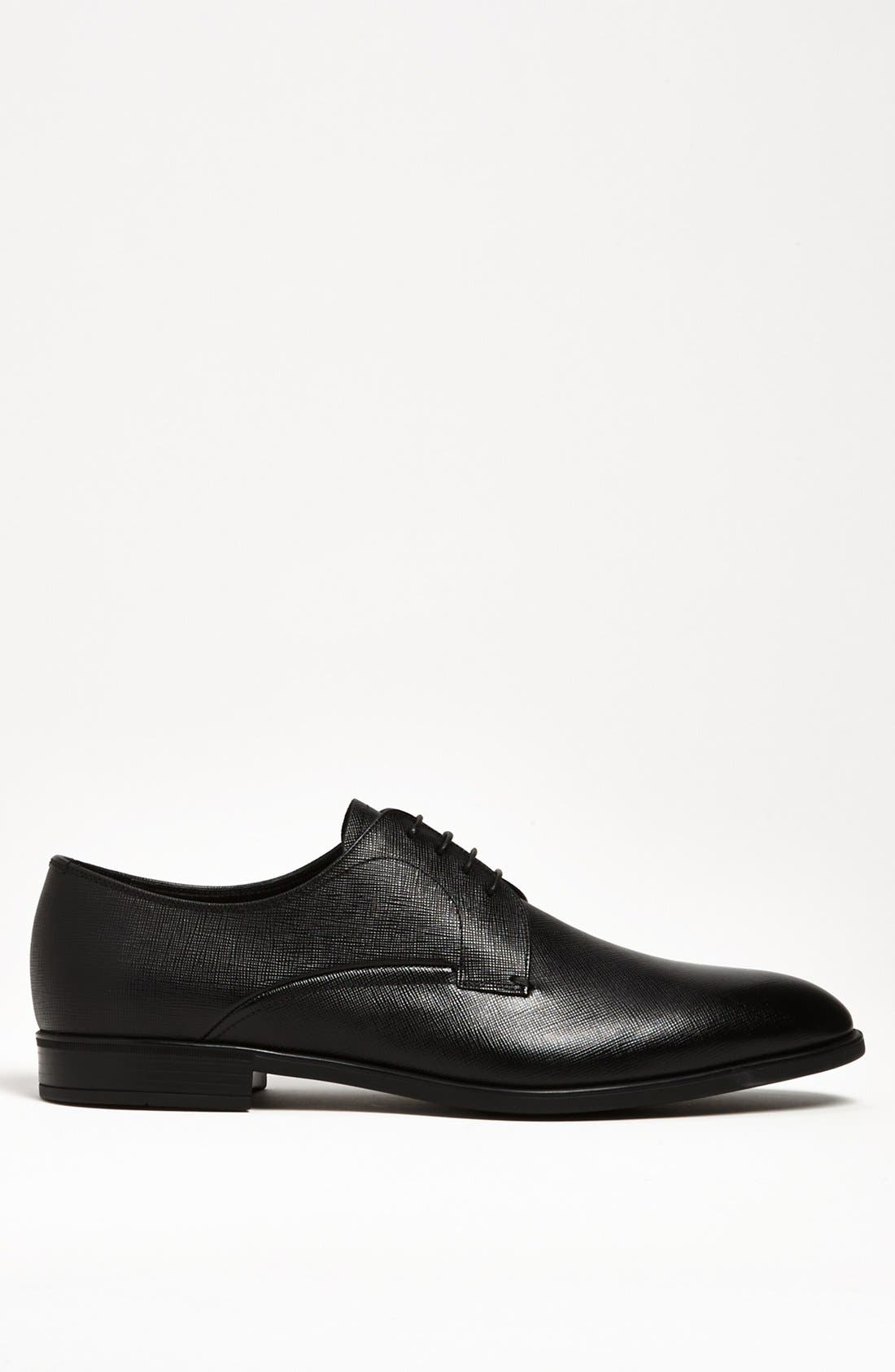 Alternate Image 4  - Prada Plain Toe Derby (Men)