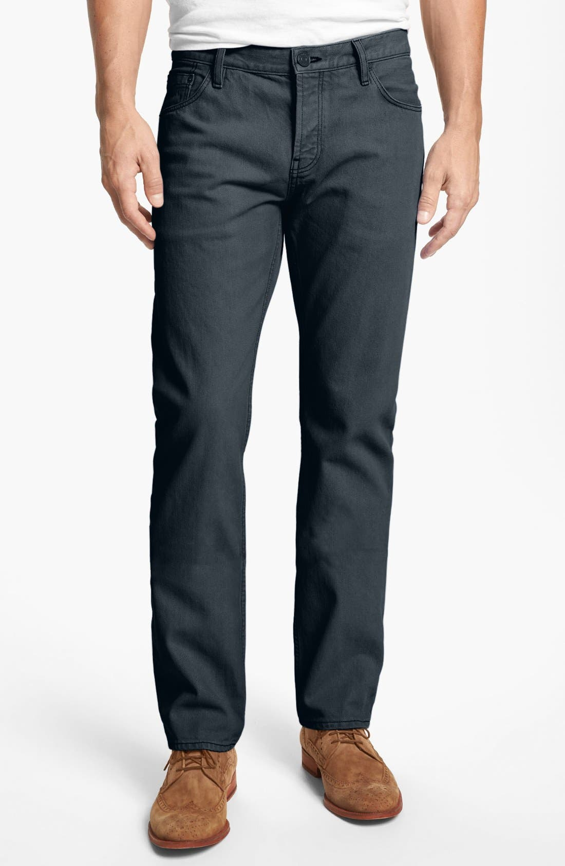 Alternate Image 1 Selected - Burberry Brit 'Steadman' Straight Leg Jeans
