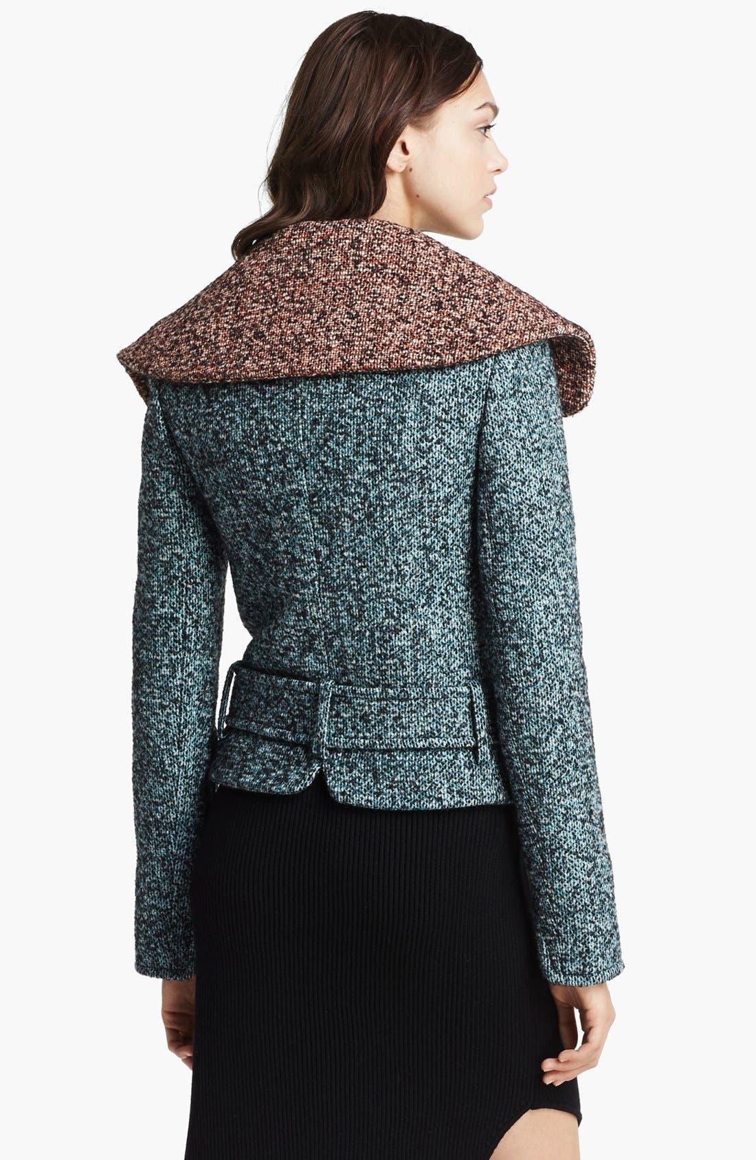 Alternate Image 4  - Carven Asymmetrical Zip Tweed Jacket