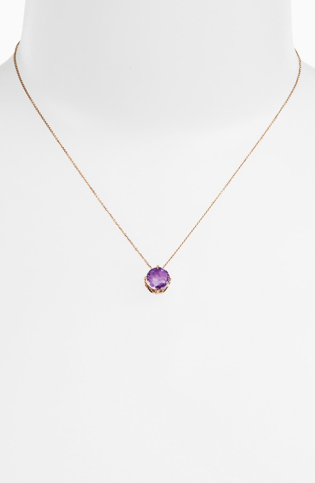 Alternate Image 2  - KALAN by Suzanne Kalan Amethyst Pendant Necklace