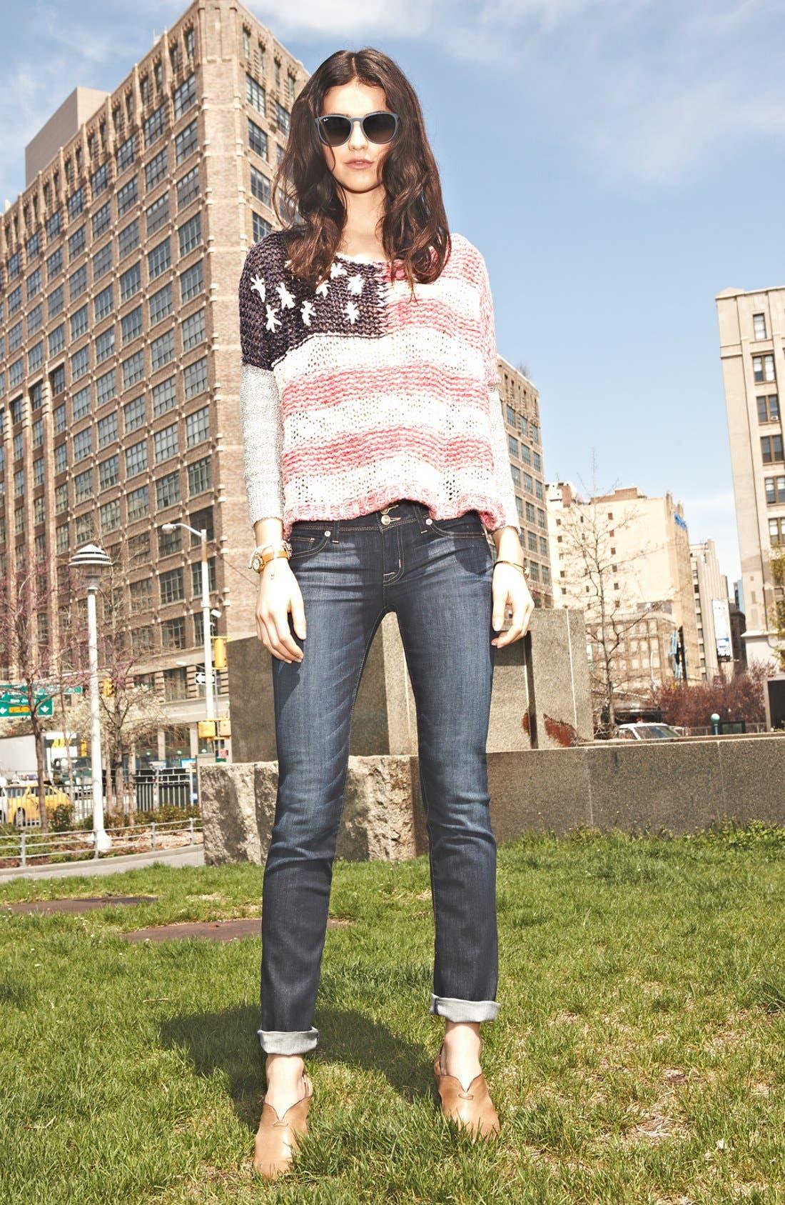 Alternate Image 4  - Free People Flag Sweater