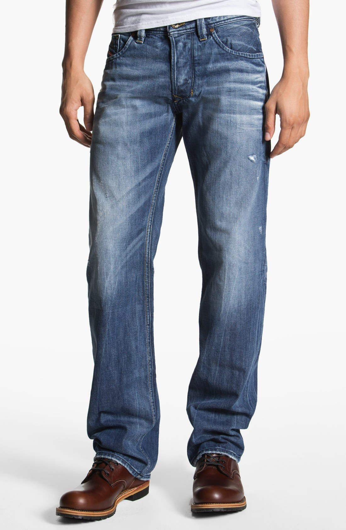 Alternate Image 2  - DIESEL® 'Larkee' Straight Leg Jeans (0805Q)