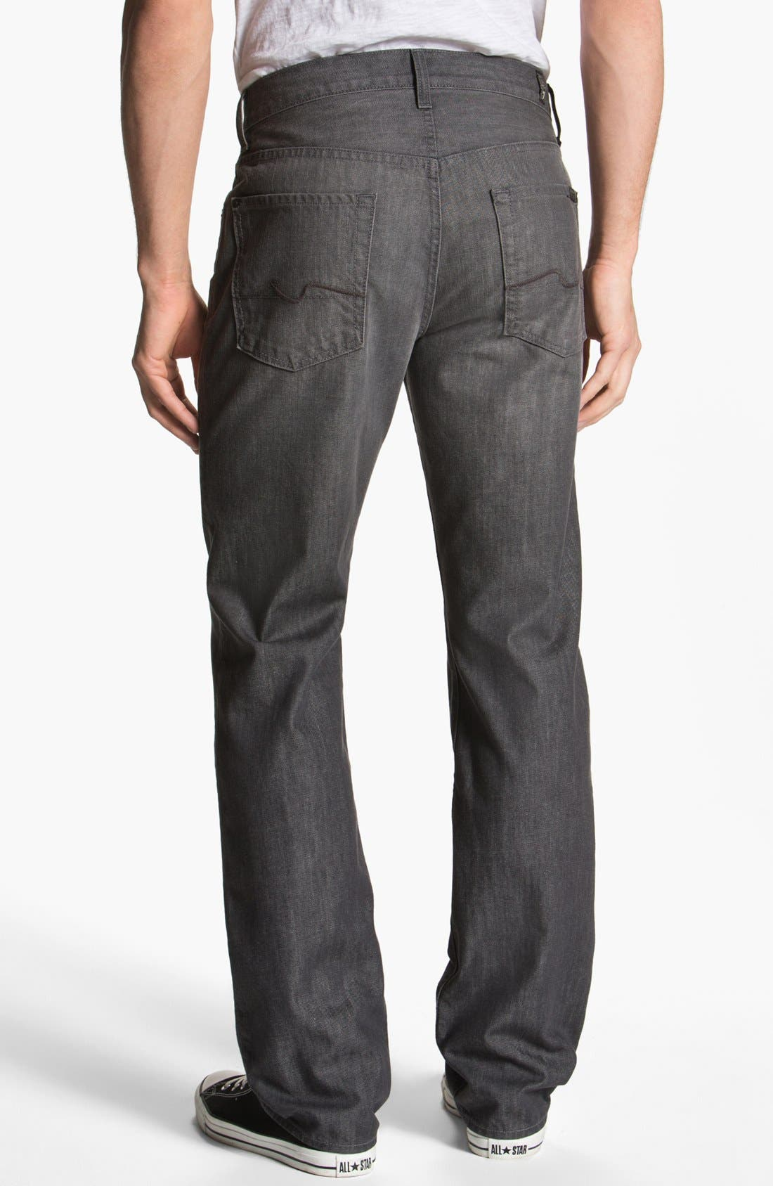 Alternate Image 1 Selected - 7 For All Mankind® 'Carsen' Straight Leg Jeans (Sulfur Springs)