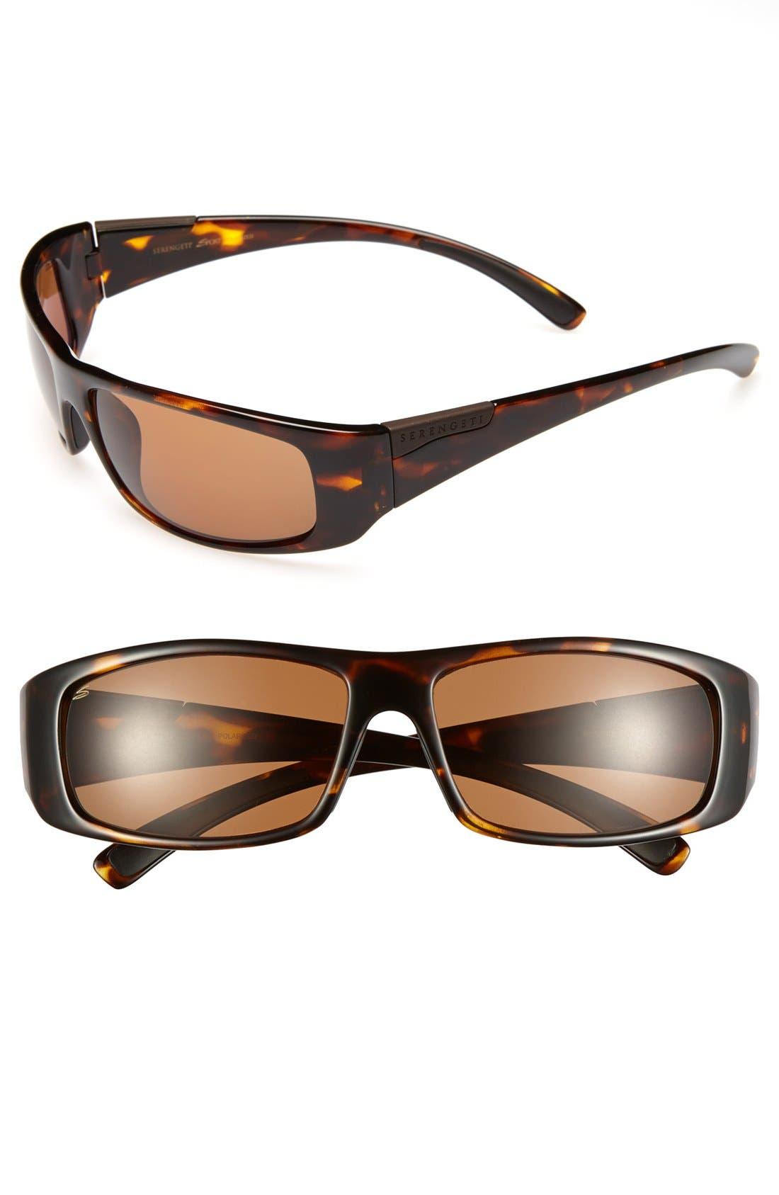 Alternate Image 1 Selected - Serengeti 'Fasano' 65mm Polarized Sunglasses