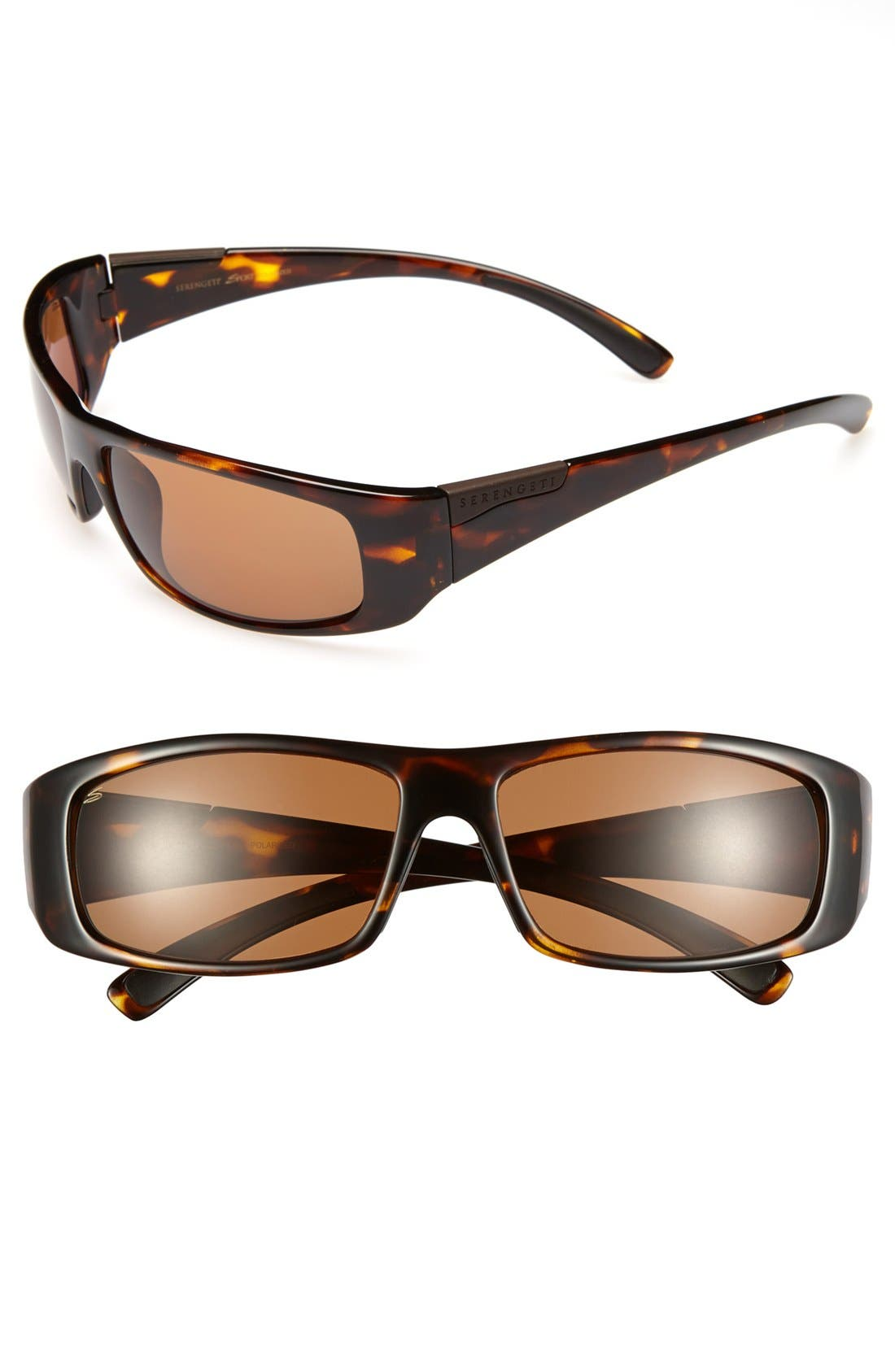 Main Image - Serengeti 'Fasano' 65mm Polarized Sunglasses