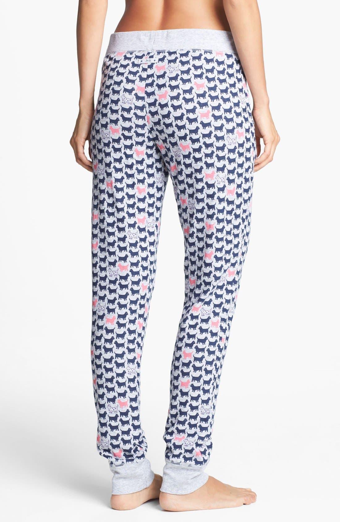 Alternate Image 2  - Jane & Bleecker New York Double Knit Pants