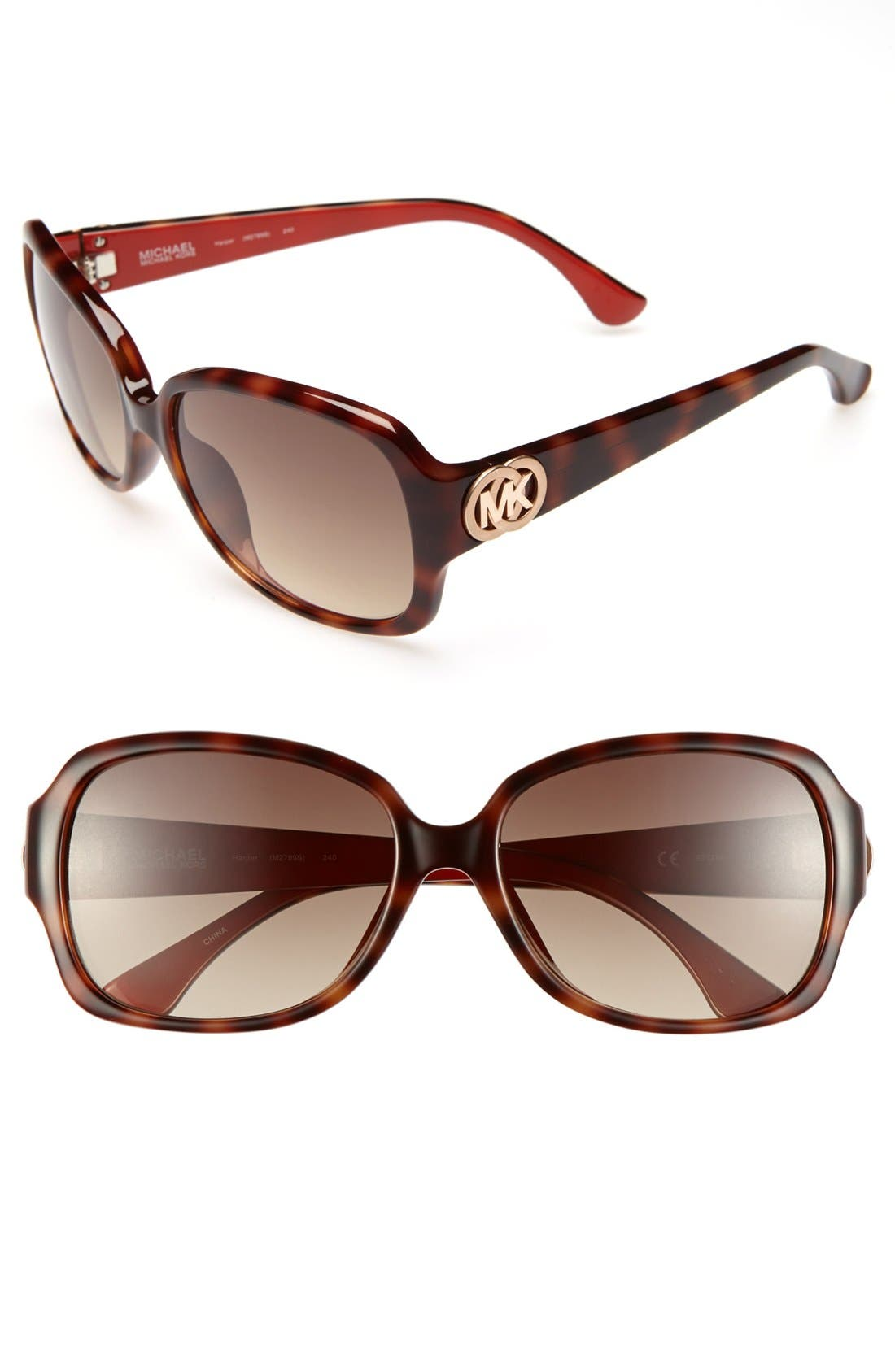 Alternate Image 1 Selected - MICHAEL Michael Kors 'Harper' 57mm Sunglasses